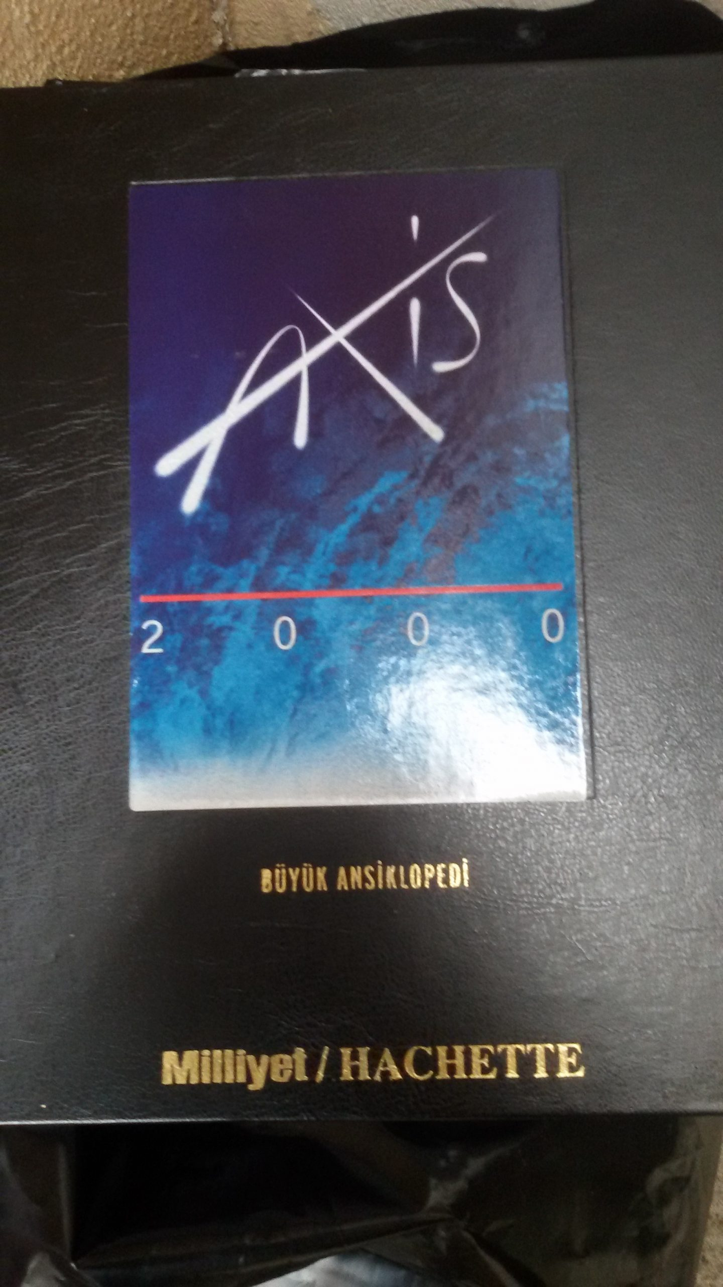 AXİS 2000/BÜYÜK ANSIKLOPEDİ/HACHETTE