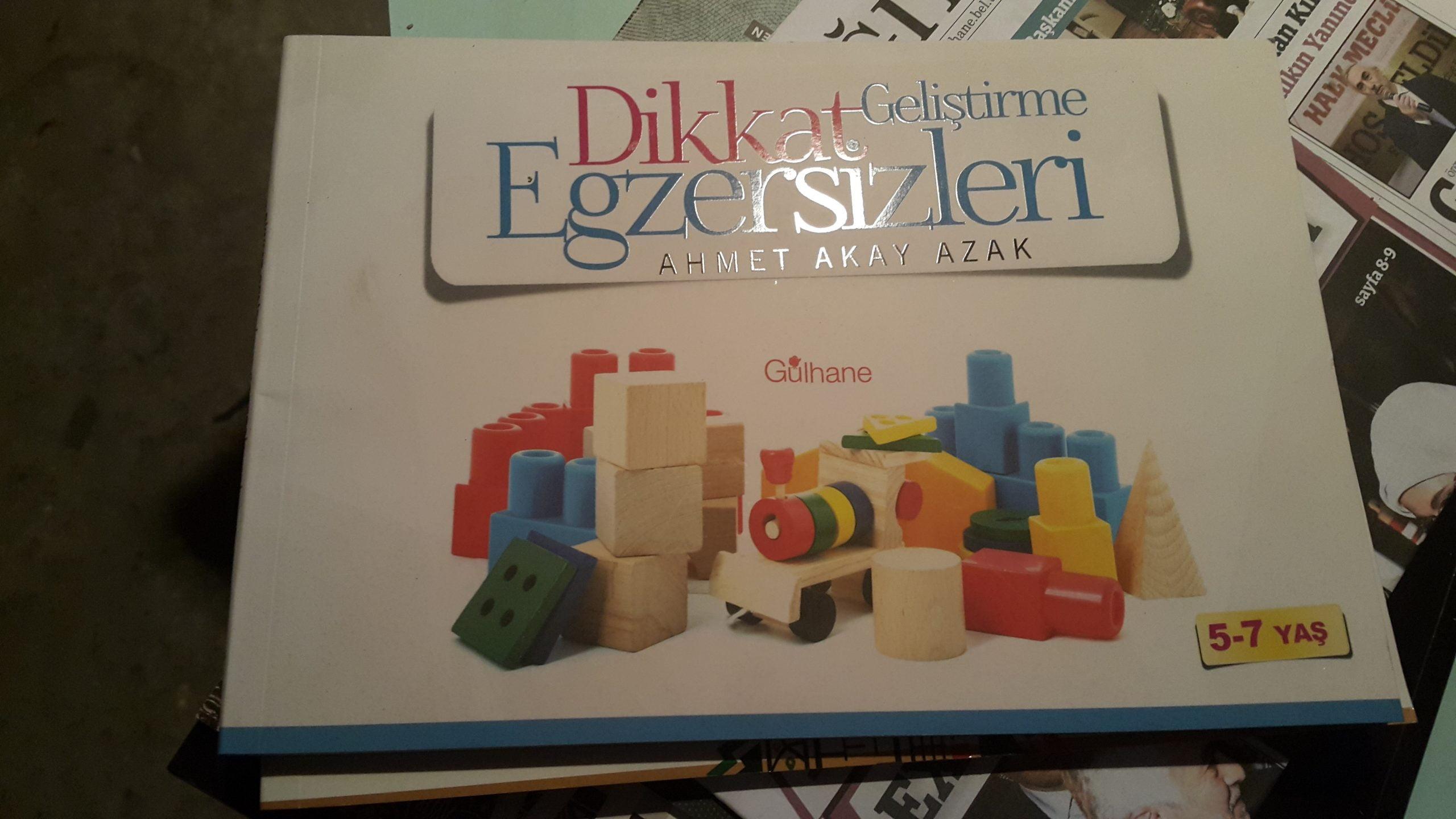 DİKKAT EGZERSİZLERİ/AHMET AKAY