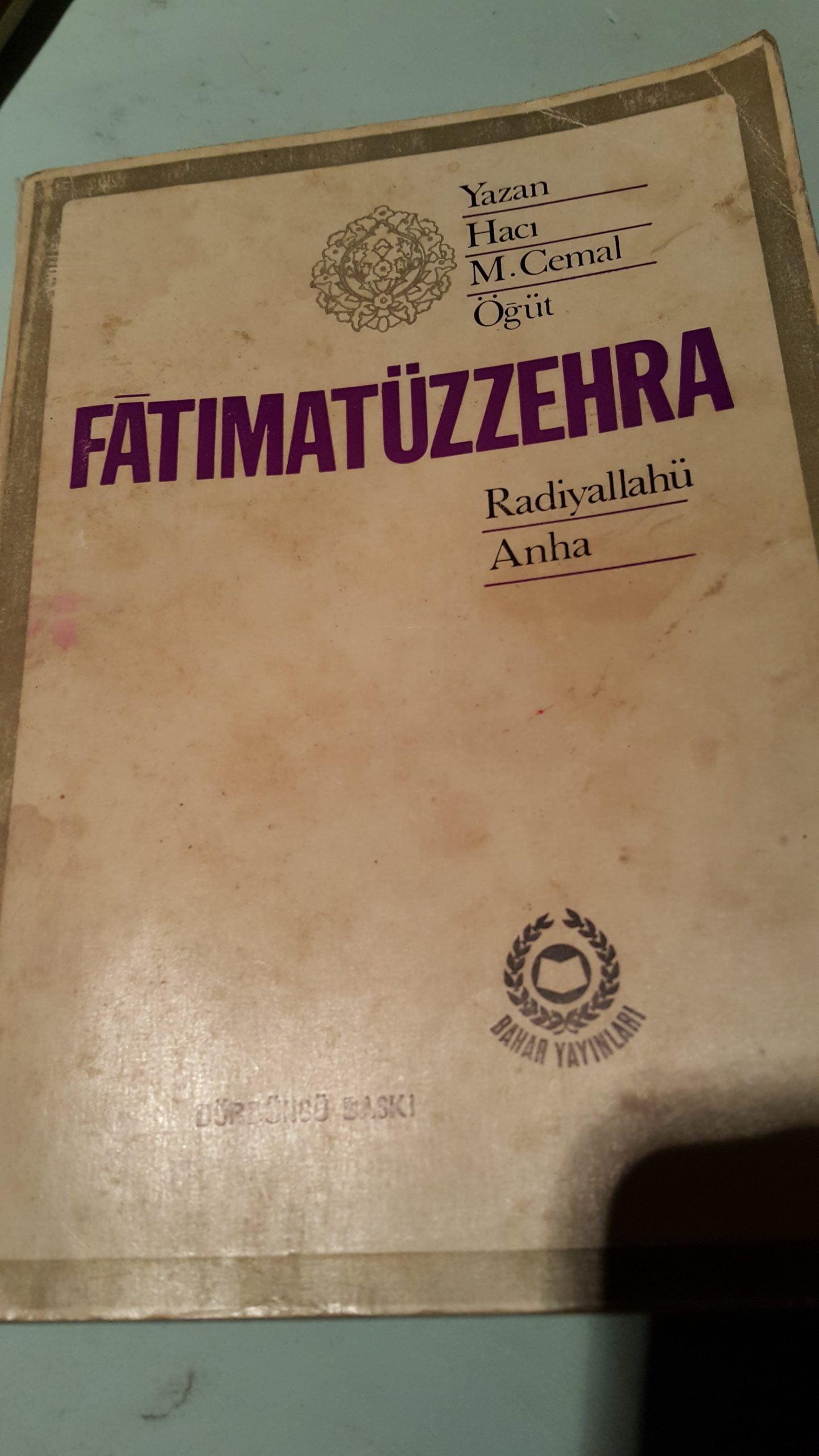 FATIMATÜZZEHRA/H.M.CEMAL ÖĞÜT