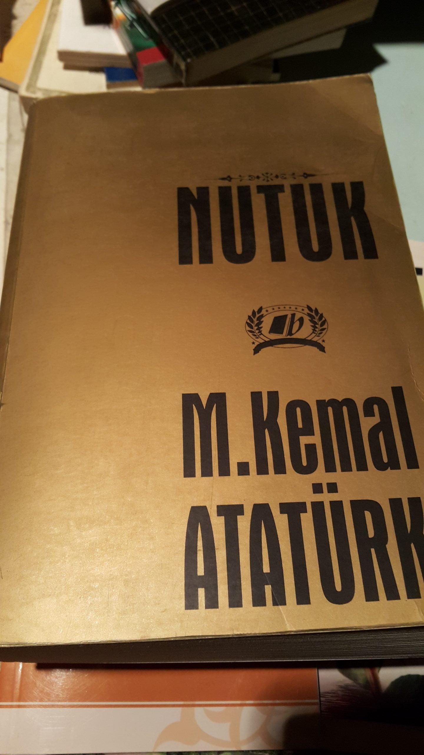 NUTUK /M.KEMAL ATATÜRK