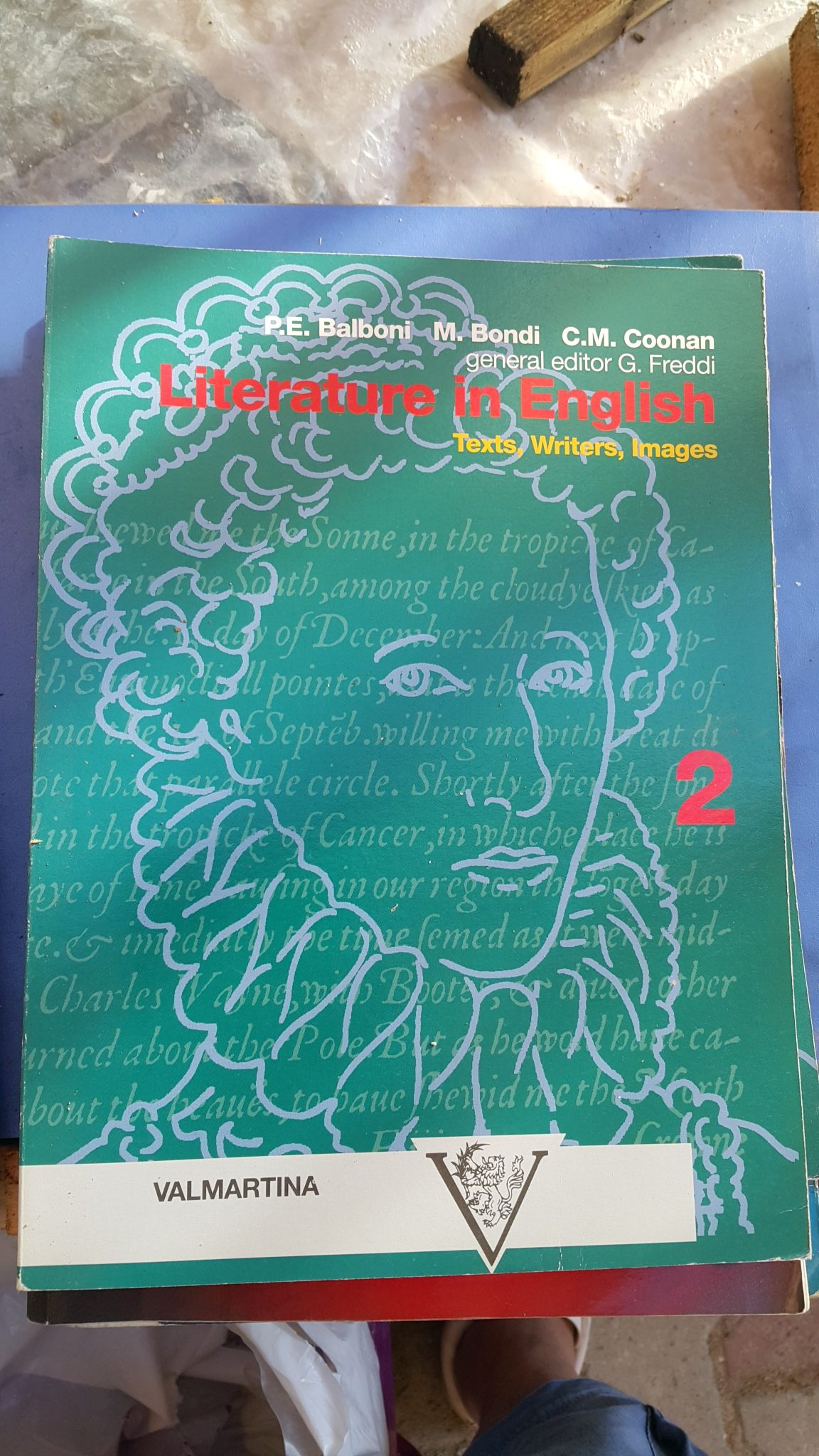 LİTERATURE IN ENGLISH 1-2 P.E.BALBONI,M.BONDI,C.M.COONAN