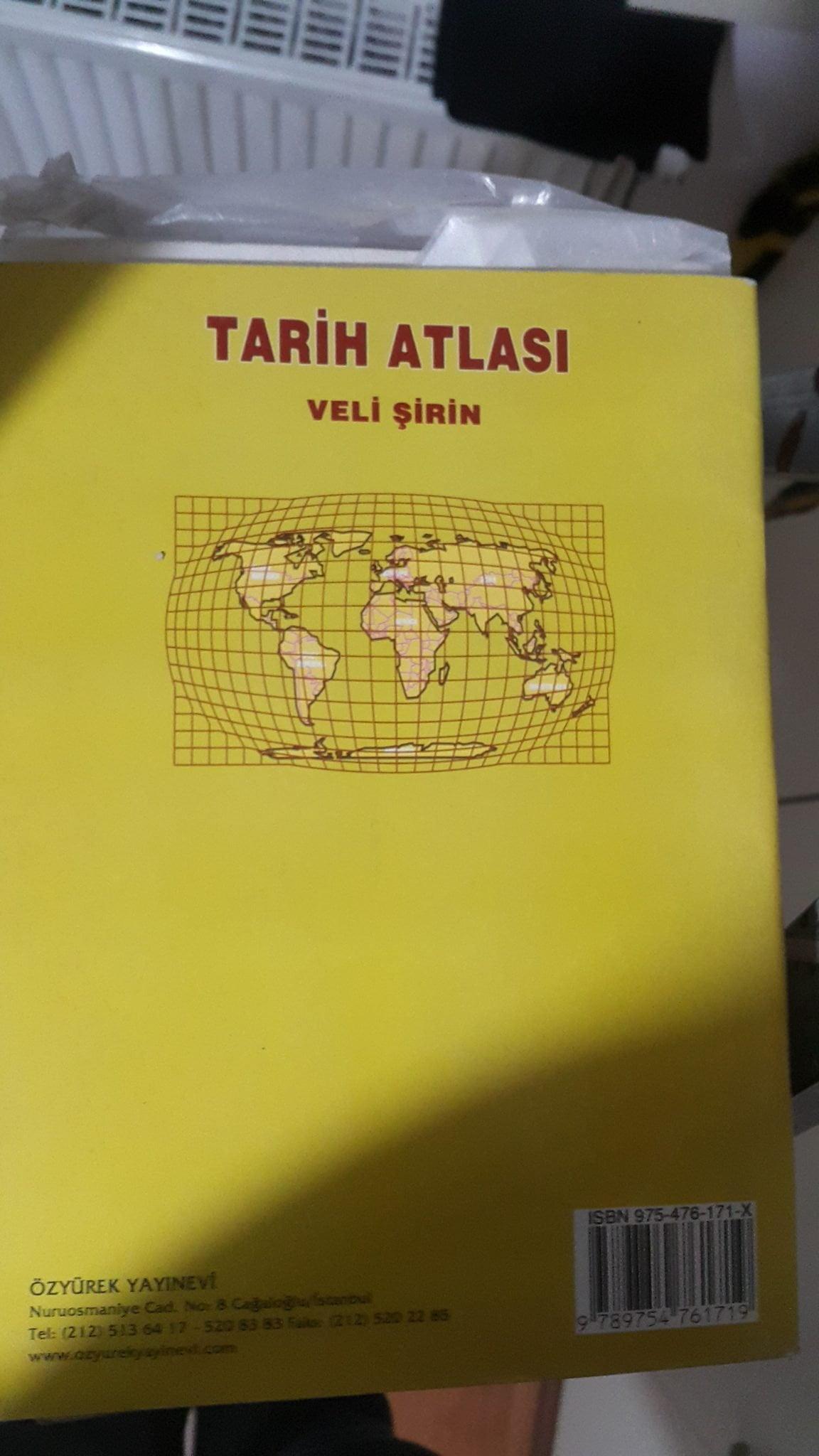 TARİH ATLASI/VELİ ŞİRİN