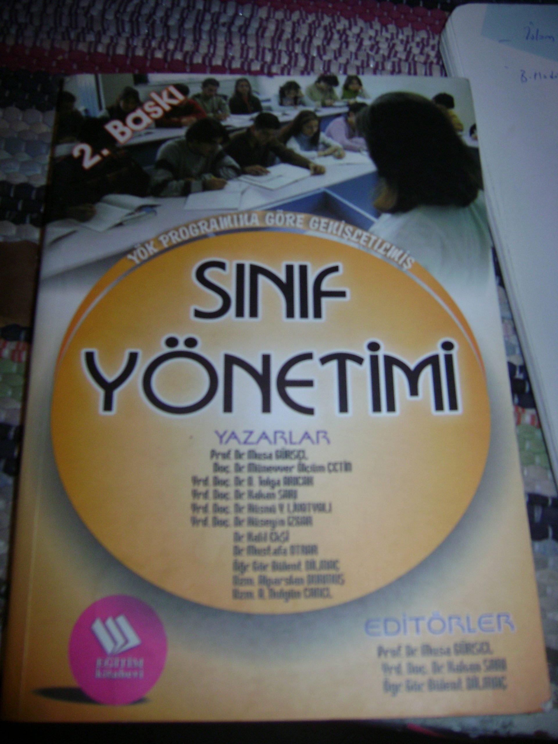 SINIF YÖNETİMİ/Musa GÜRSEL/ 25 TL