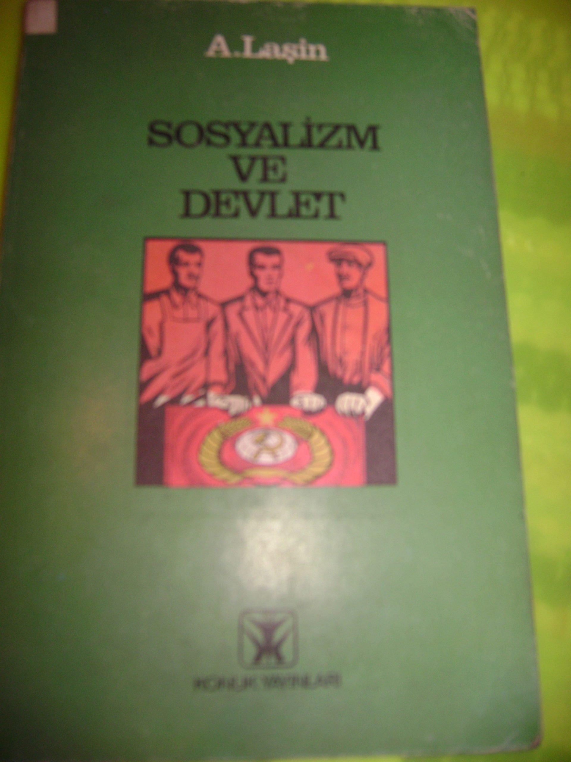 SOSYALİZM VE DEVLET/A.Laşin/15 tl