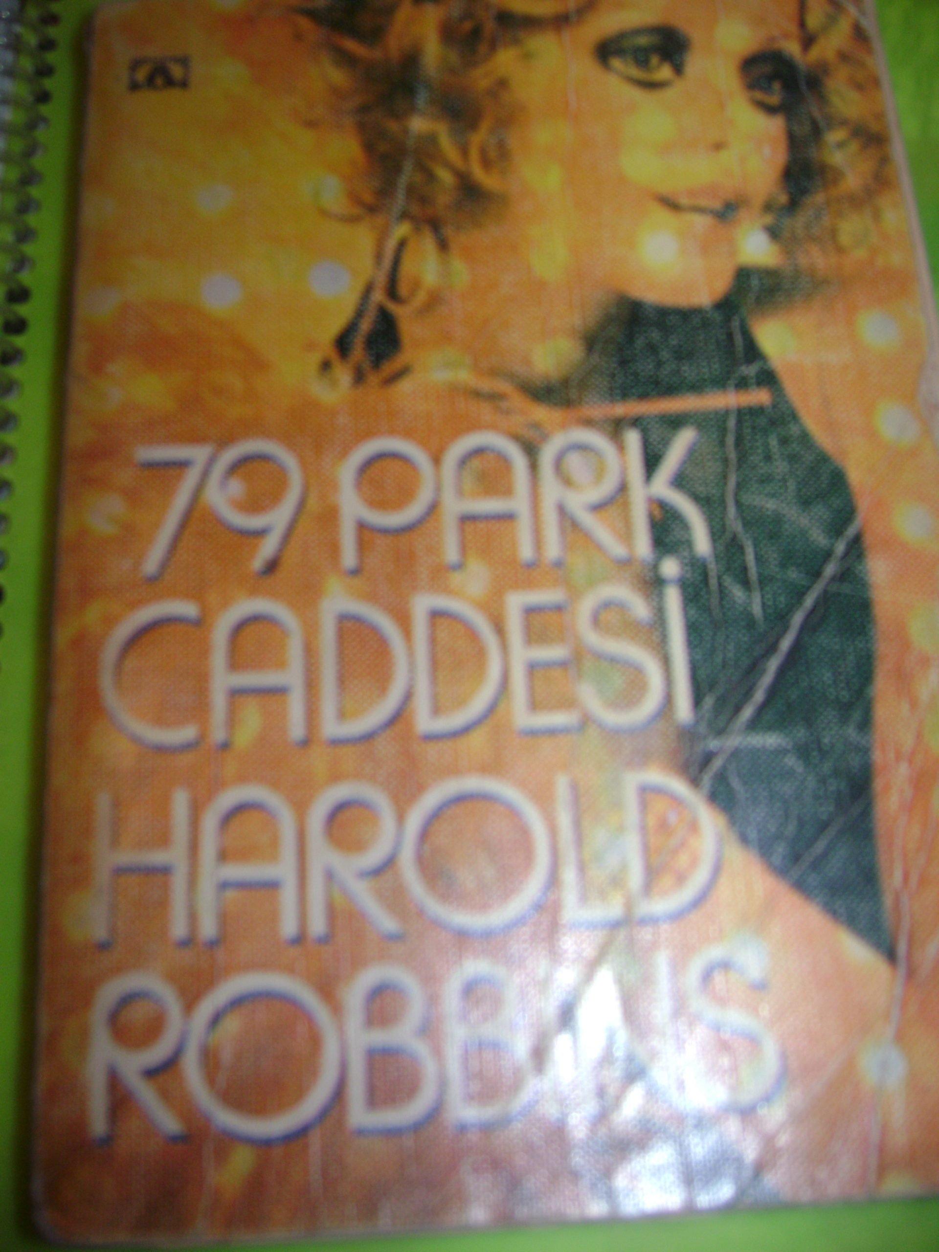 79 park caddesi& Harold ROBBINS/10 TL