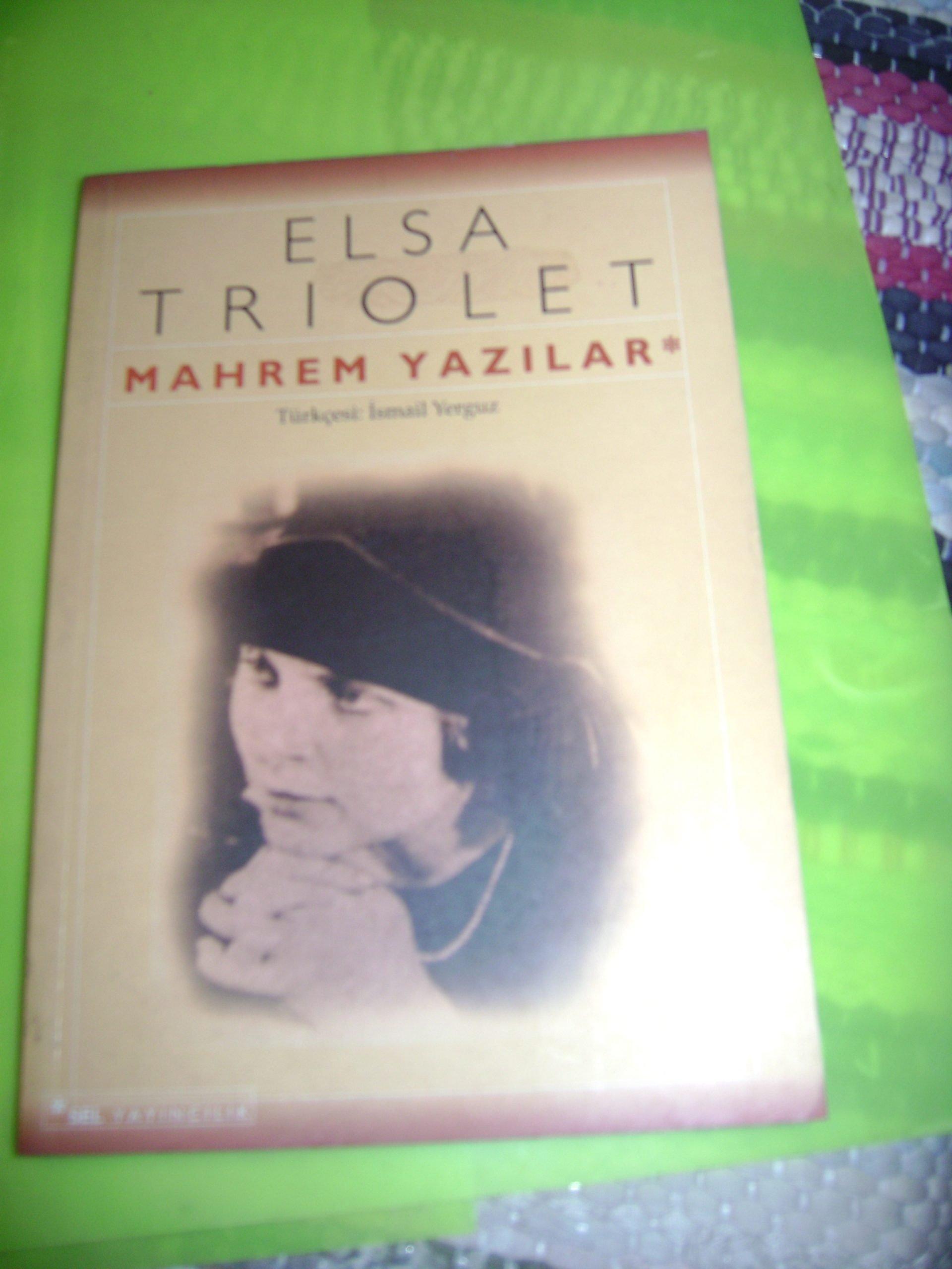 MAHREM YAZILAR& Elsa Trıolet/10 TL