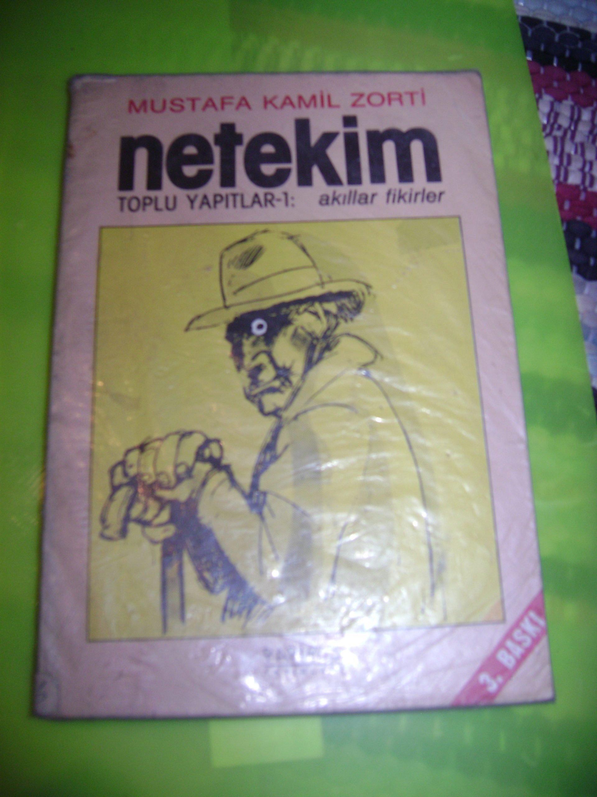 NETEKİM/Mustafa Kamil Zorti / 10TL