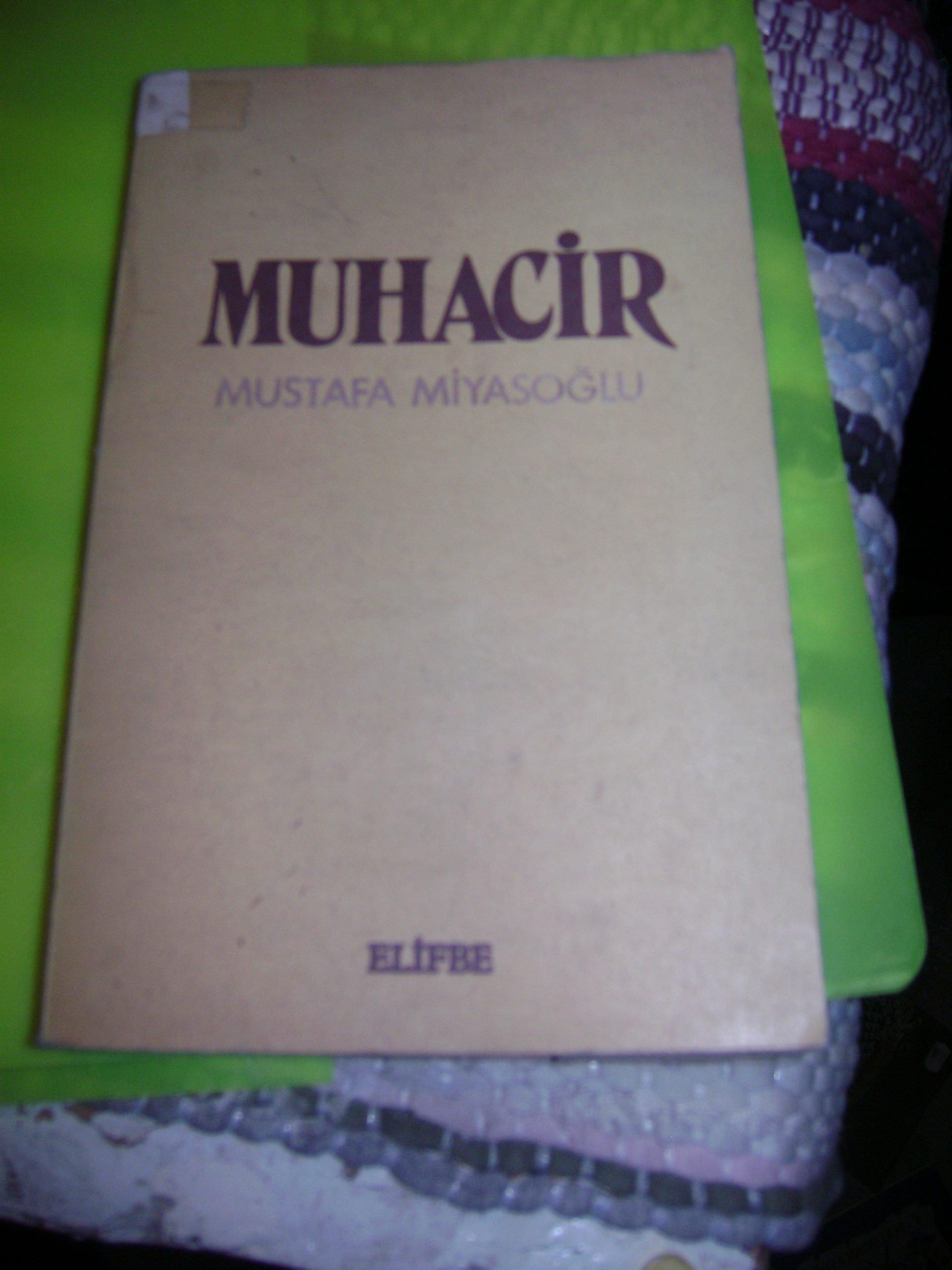 MUHACİR/Mustafa MİYASOĞLU/20 tl