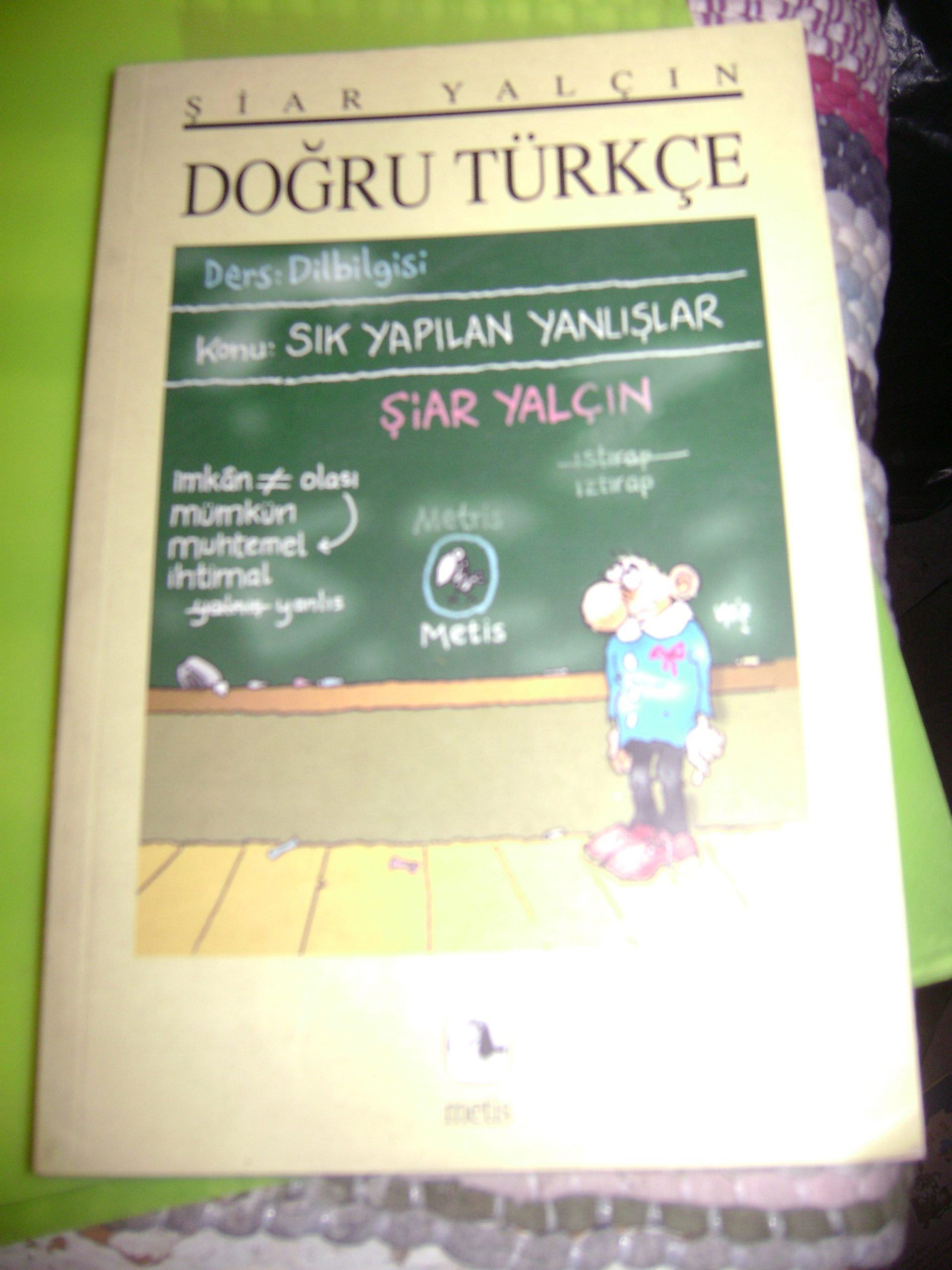 DOĞRU TÜRKÇE/Şiar YALÇIN/15 tl