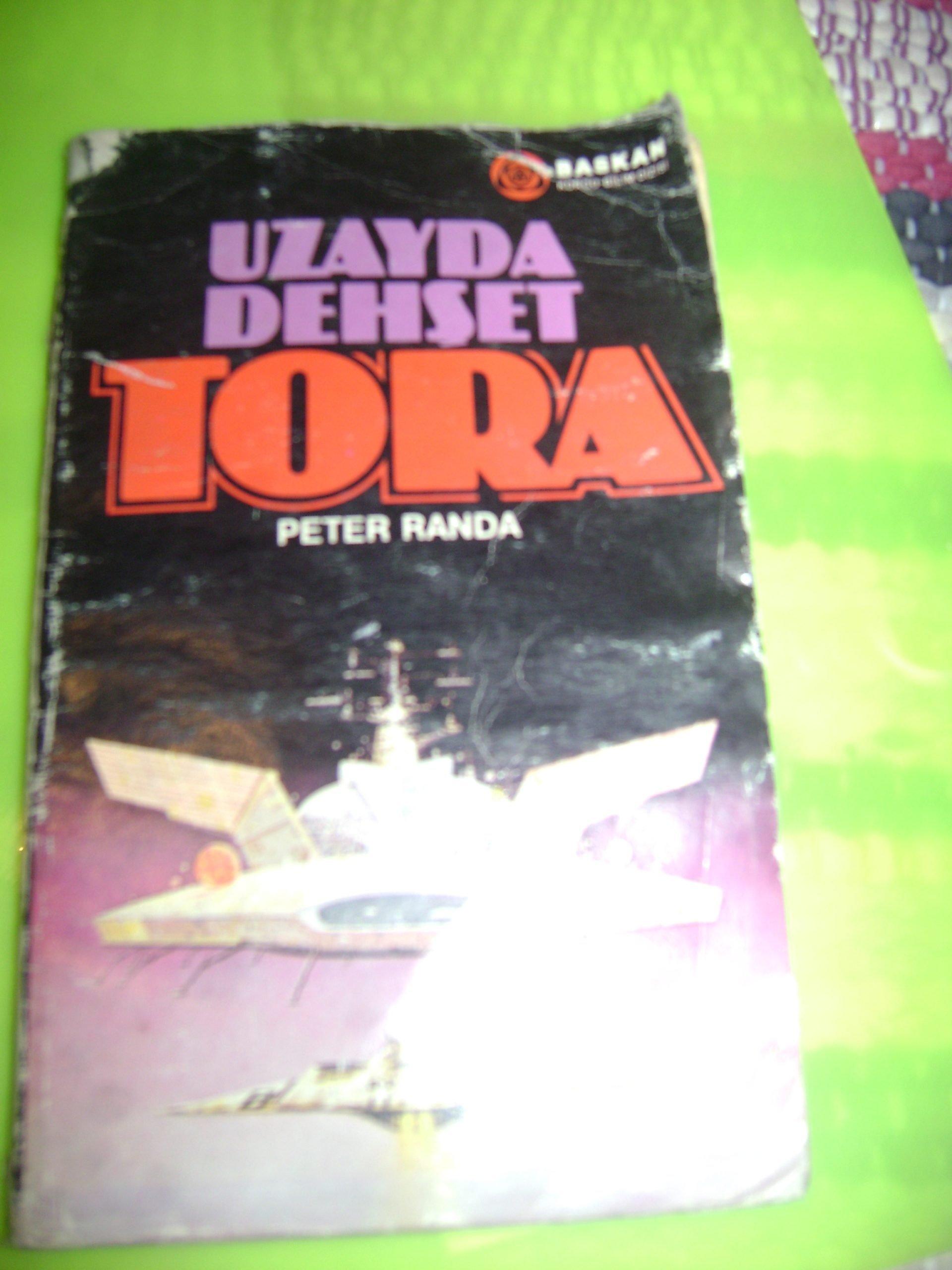 UZAYDA DEHŞET TORA /Peter RANDA/7,5 tl