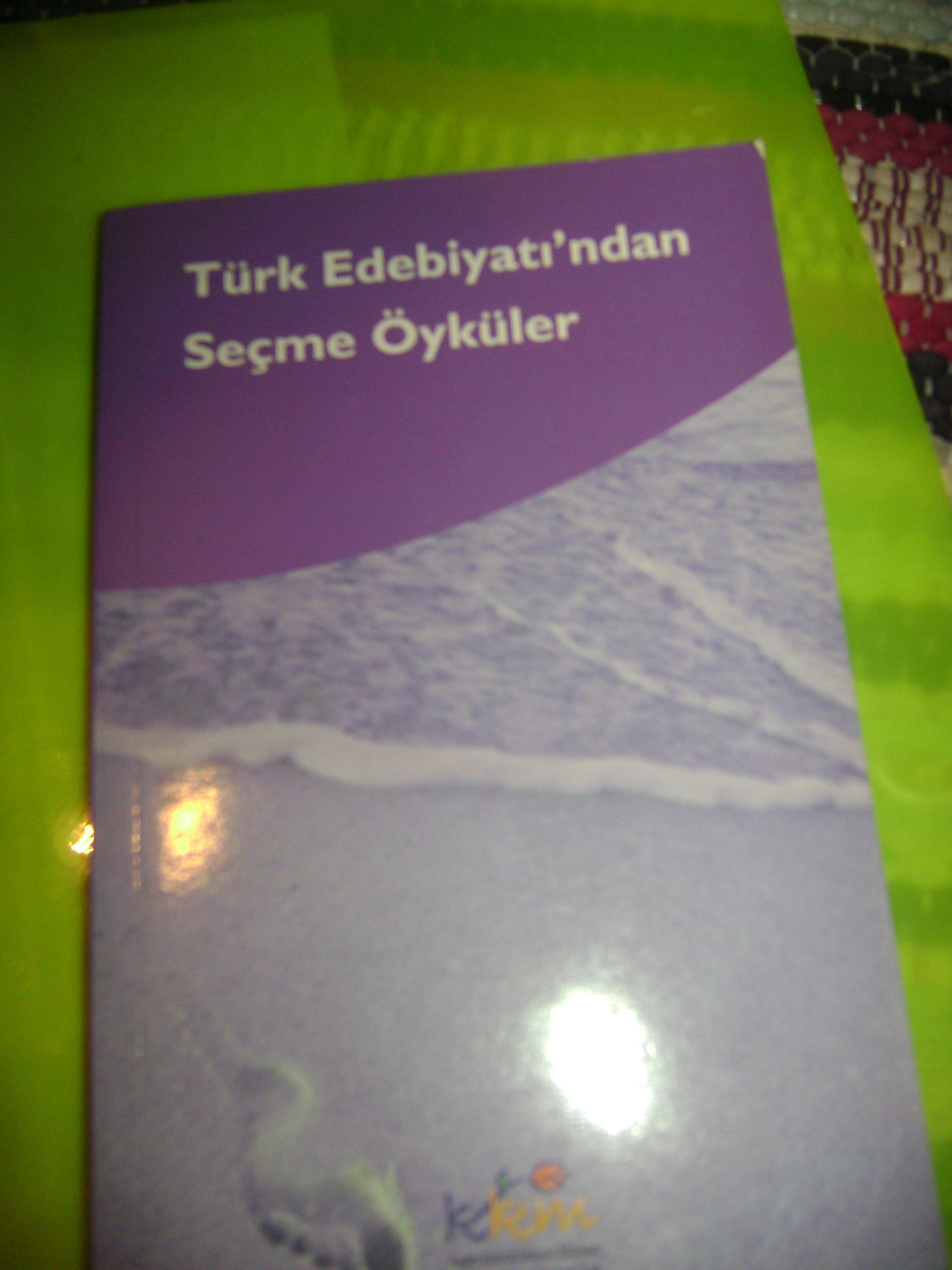 Türk edebiyatından seçme öyküler/ 10 tl