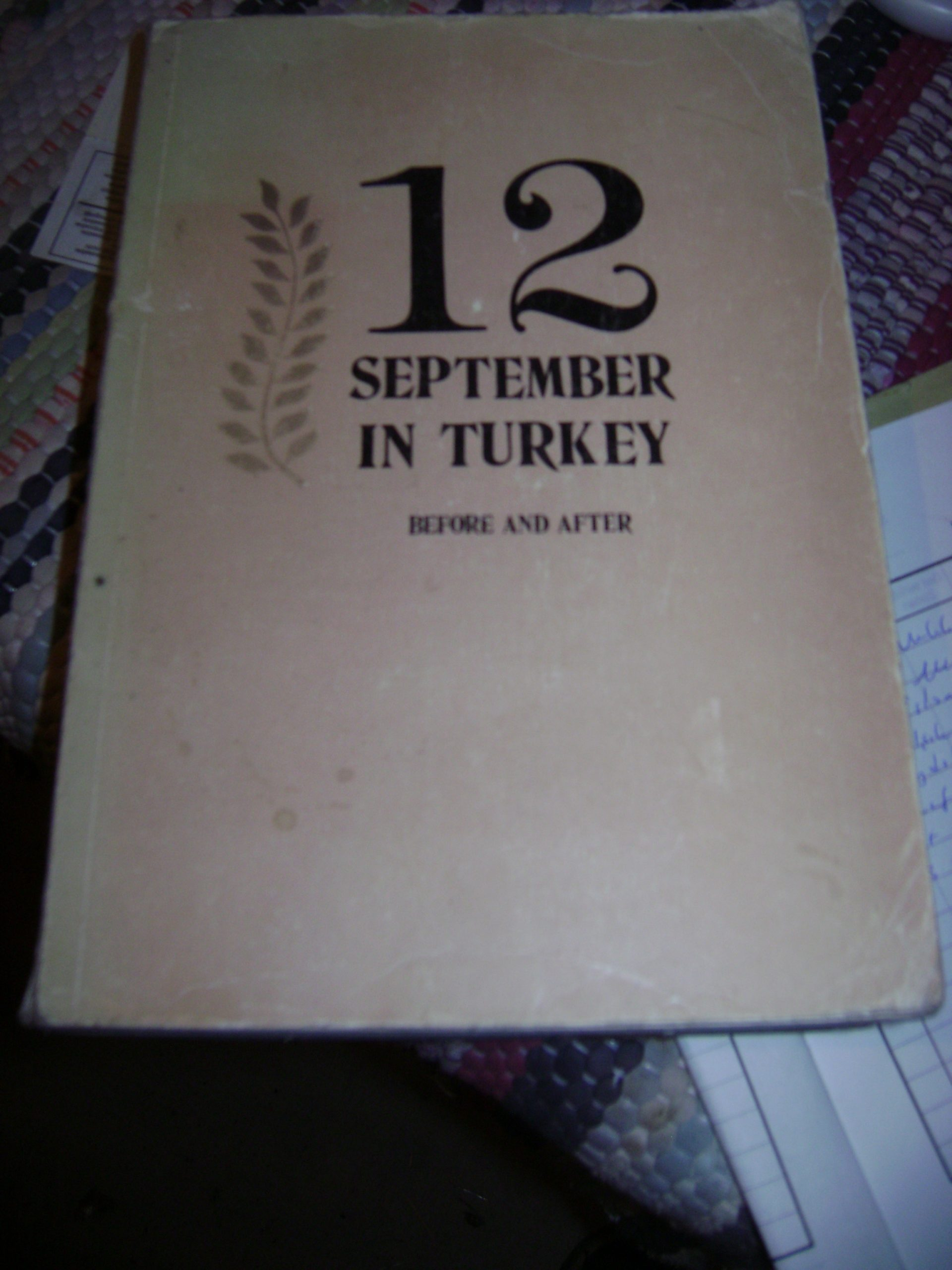 12 september ın turkey-Before and after/25 tl