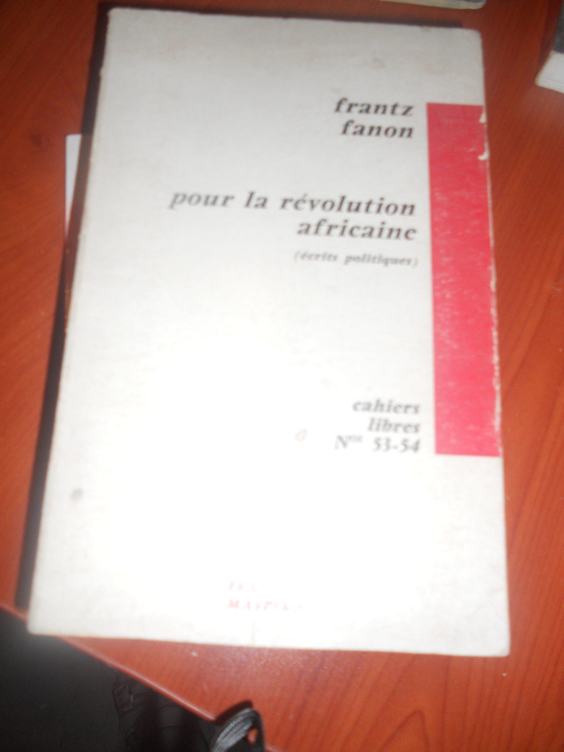 pour la revolution africane/Frantz Fanon/15 tl