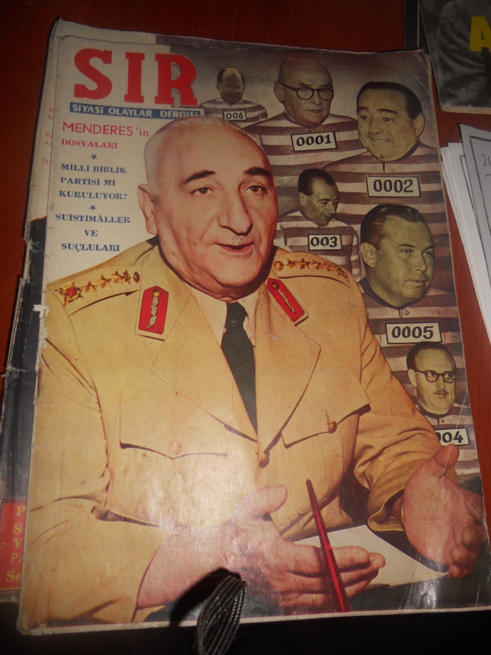 SIR dergisi/21.06.1960 /2 adet/ toplam 10 tl