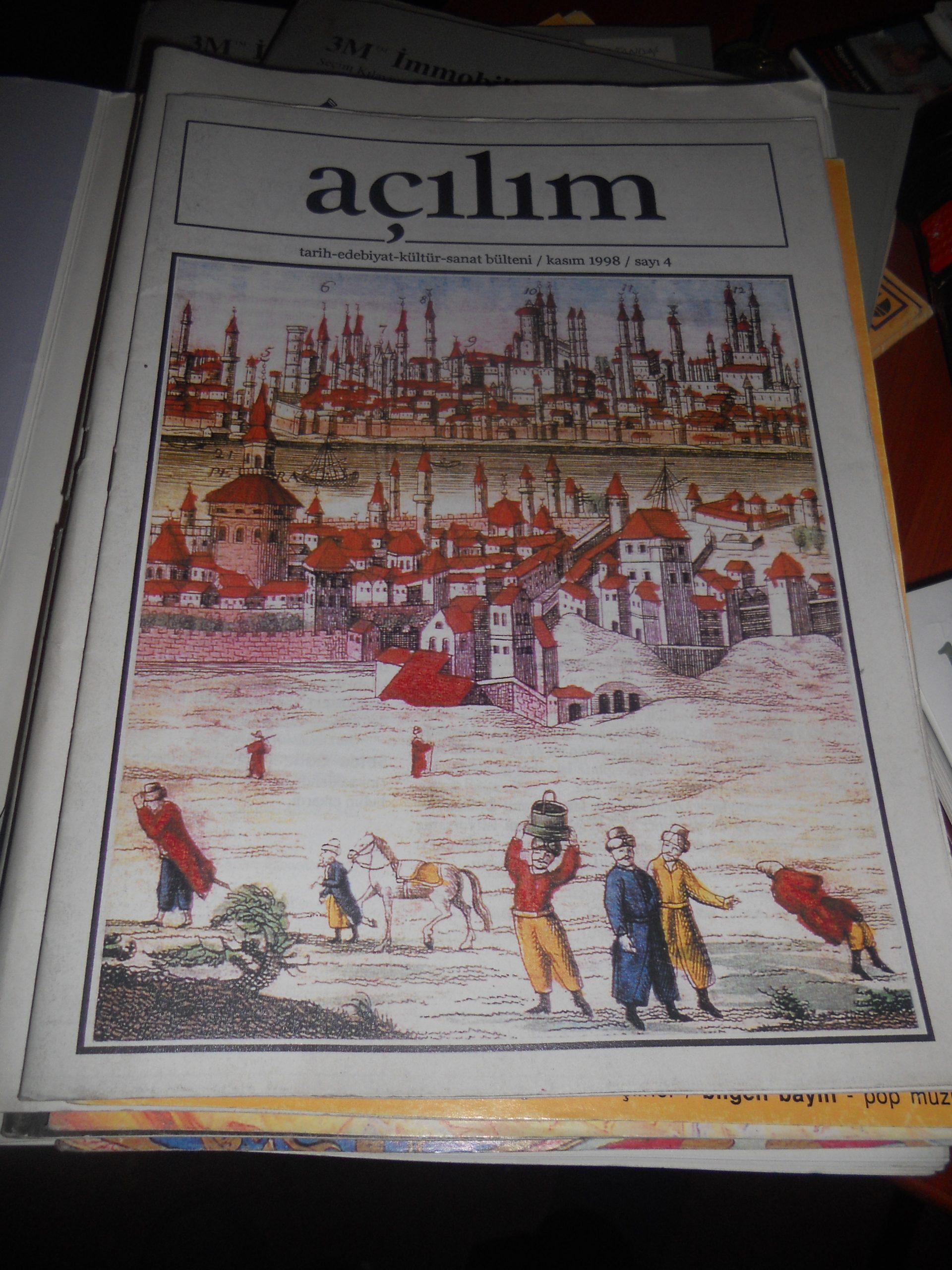 AÇILIM DERGİLERİ/13 adet/2000 yılı-/60 tl