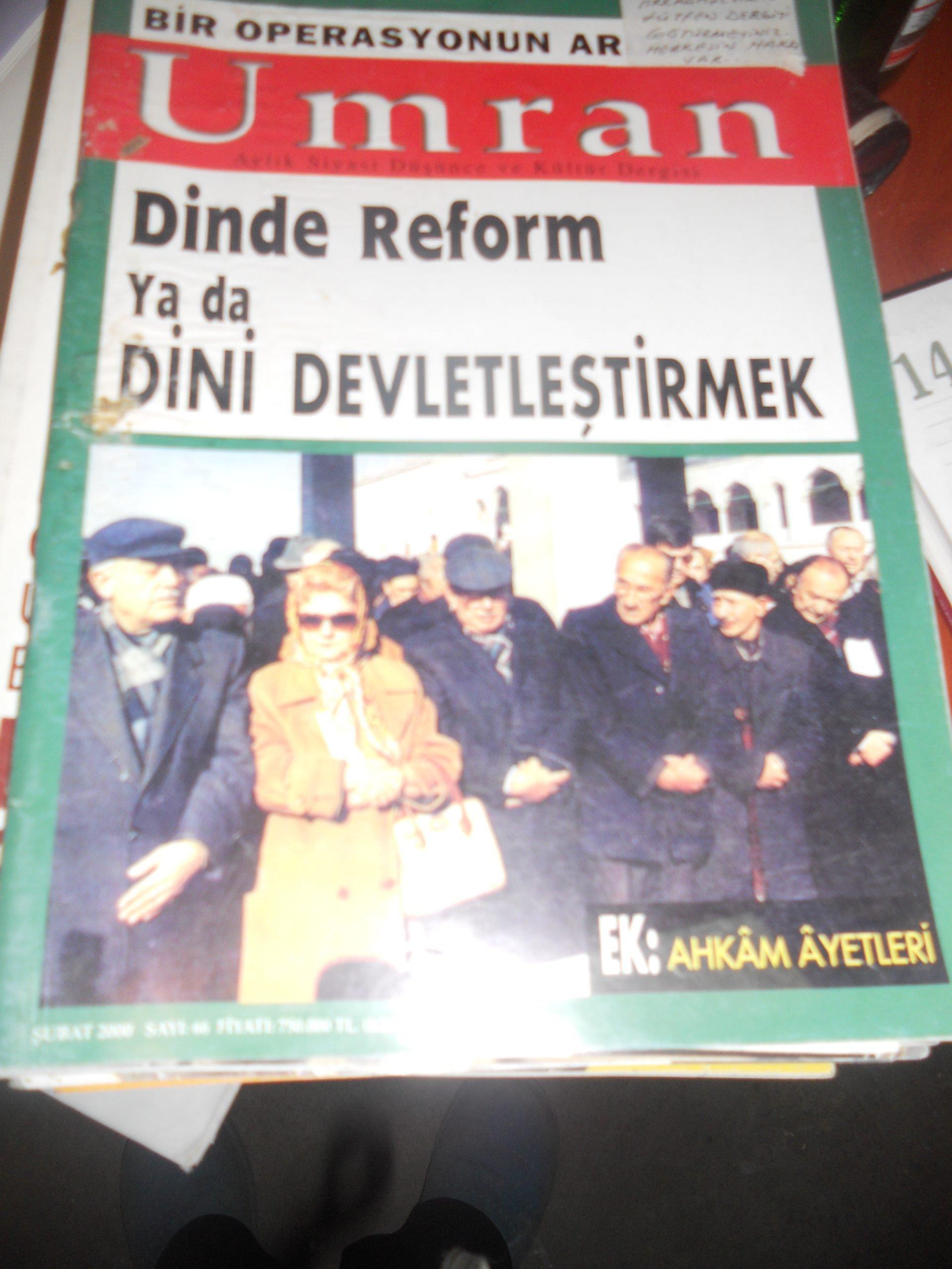 ÜMRAN DERG/1999-2007/12 ADET/50 TL