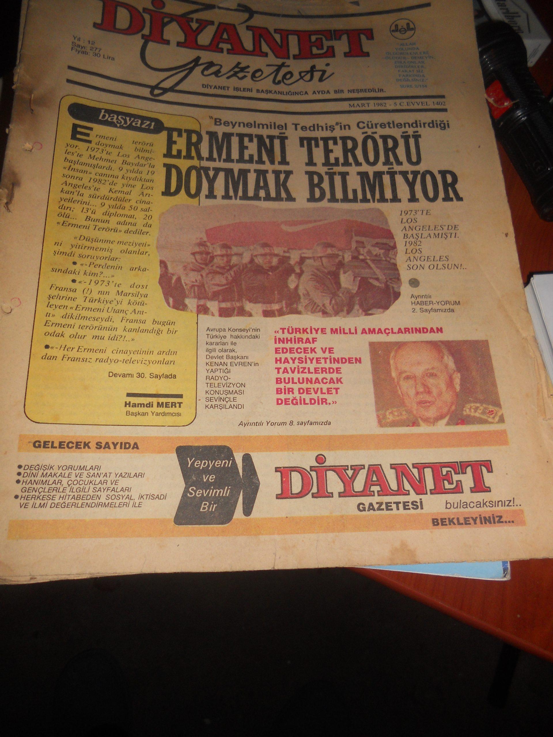 DİYANET DERGİLERİ/1982-1997/ 18 Adet.Toplam.35 tl
