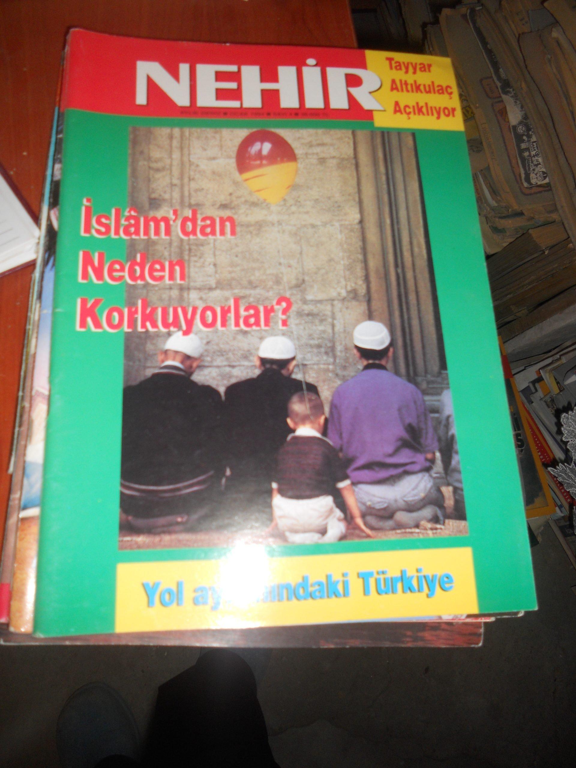 NEHİR DERGİSİ/7 ADET/1993-1995 arası/Toplam 35 tl