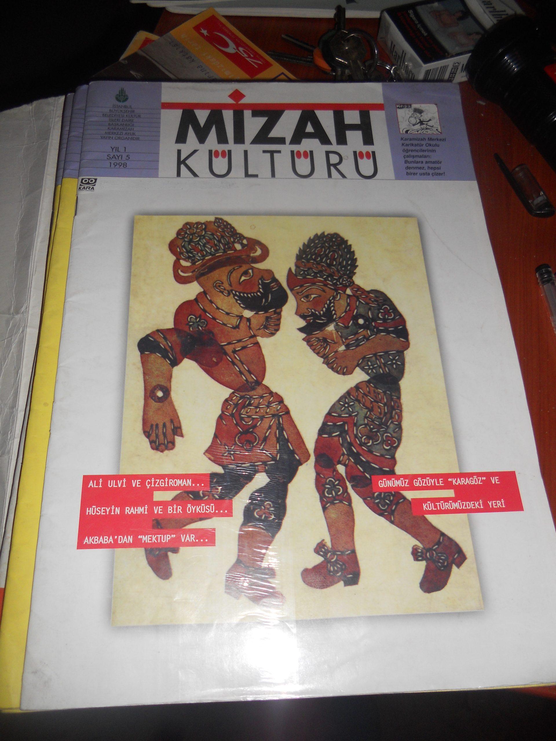 Mizah Kültürü-1998-2000 arası/4 adet.toplam 20 tl