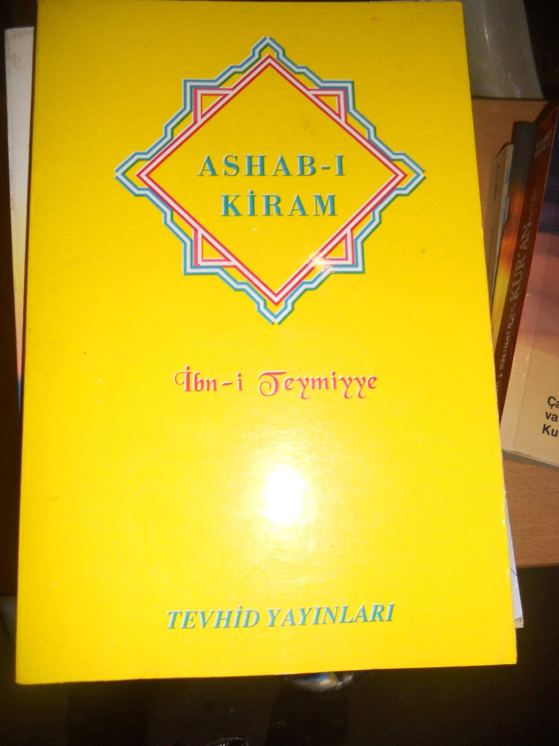ASHAB-I KİRAM/İbn-i TEYMİYYE/ 15 tl