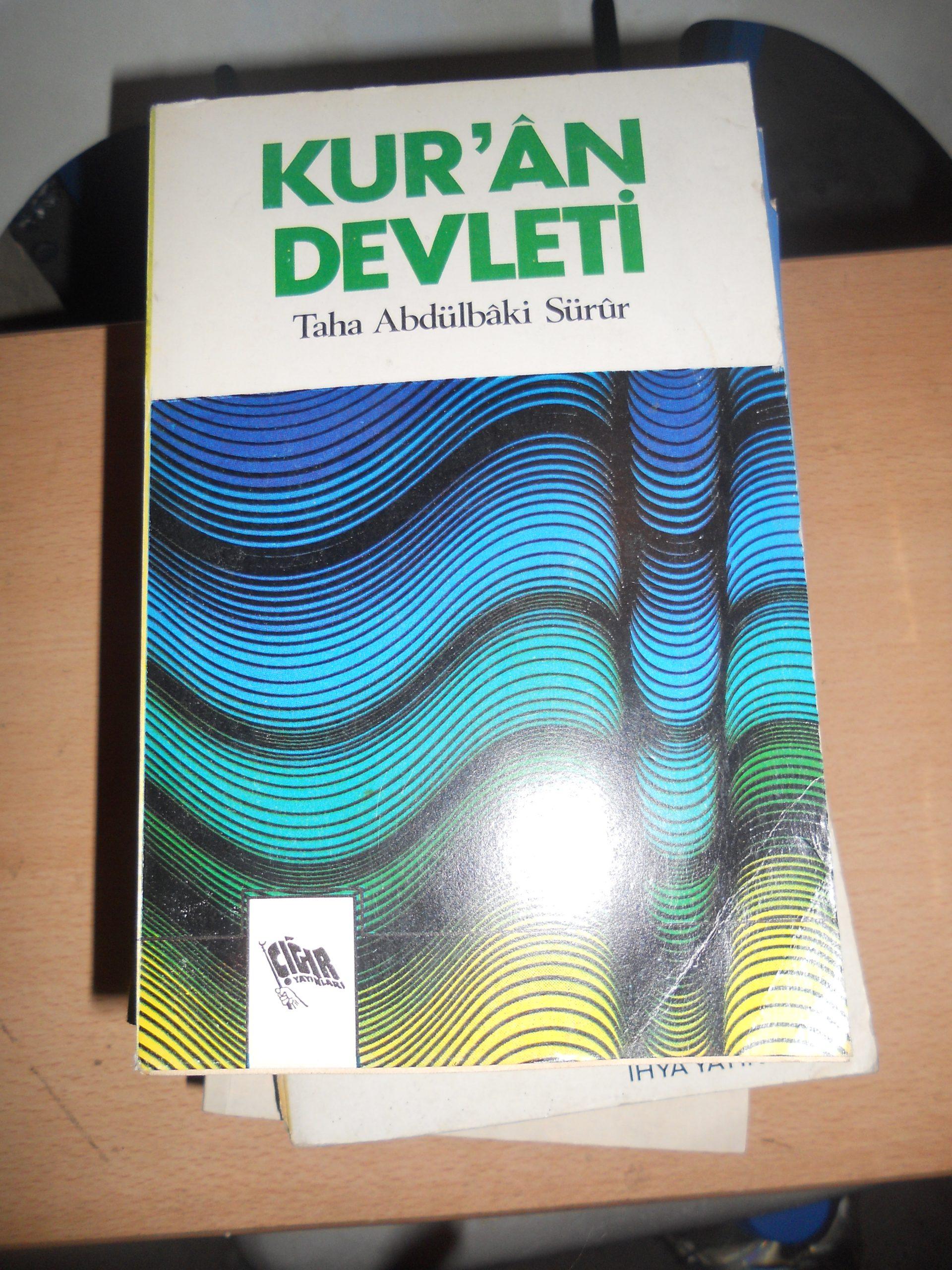 KUR'AN DEVLETİ/Taha Abdulbaki Sürur/10 tl