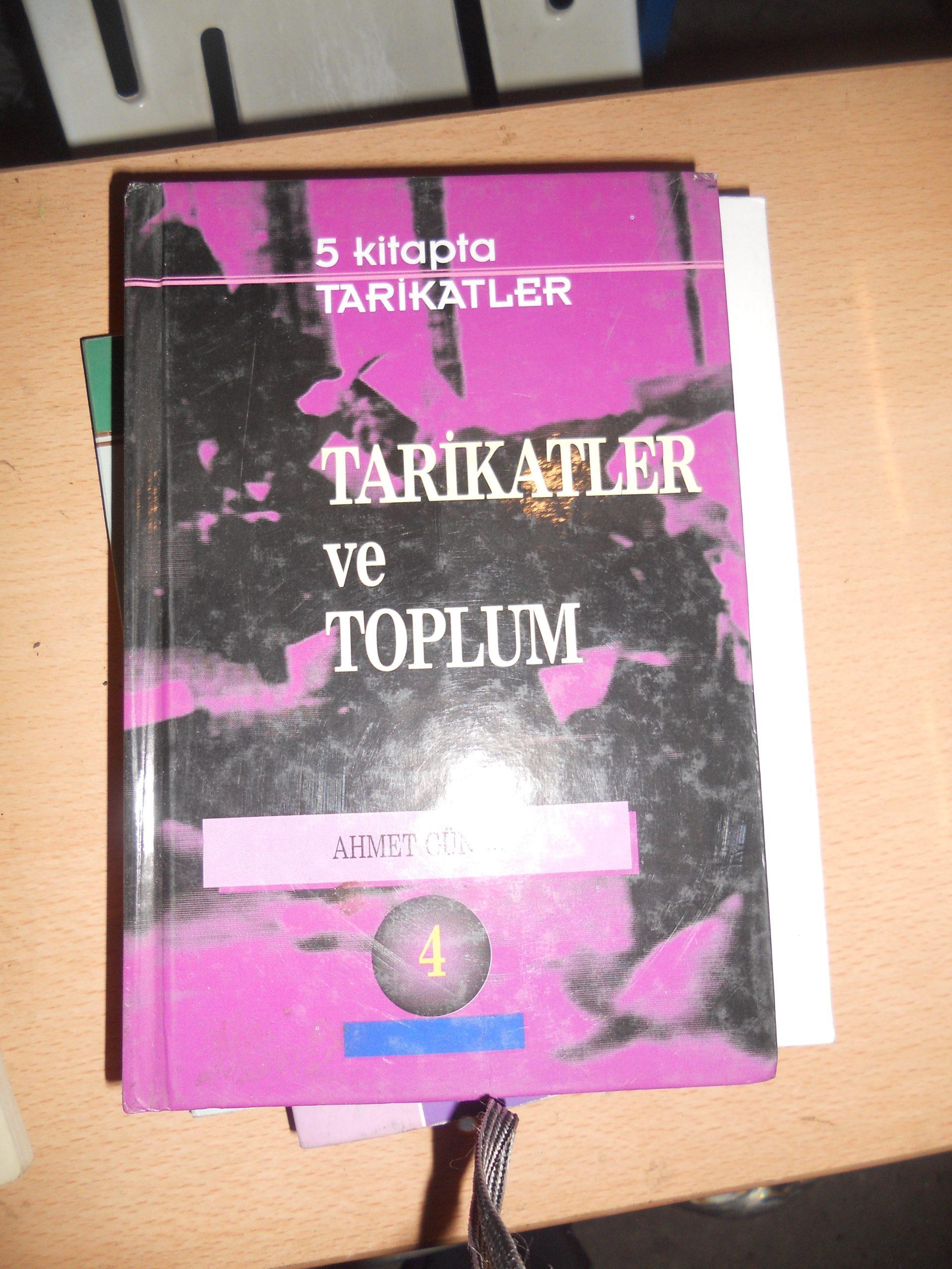TARİKATLER ve TOPLUM/Ahmet GÜNER/ 7,5 TL