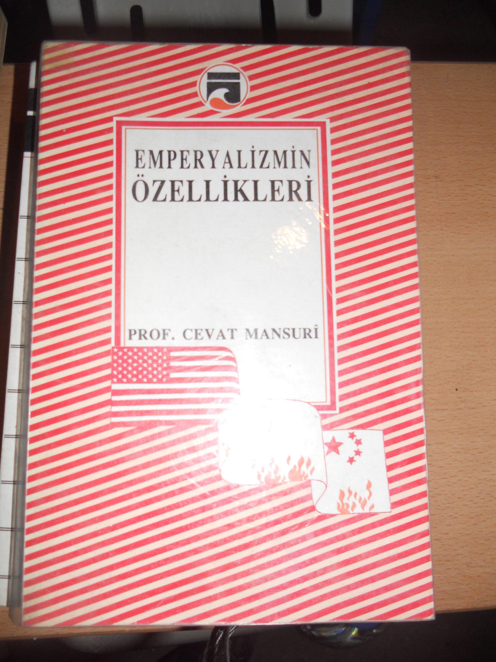 EMPERYALİZMİN ÖZELLİKLERİ/ Cevat MANSURİ/ 10 tl