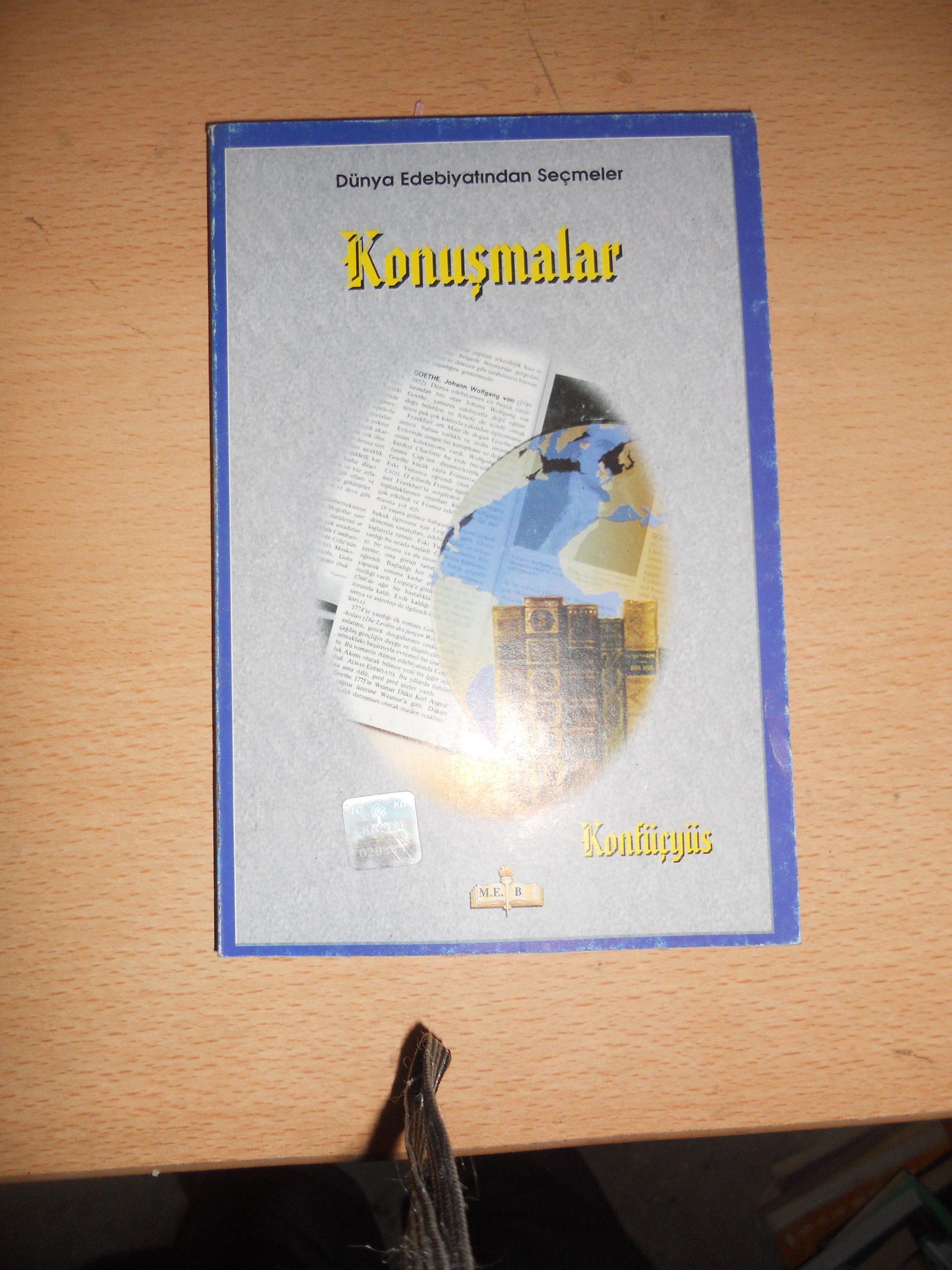 KONUŞMALAR/Konfüçyüs/ 10 TL