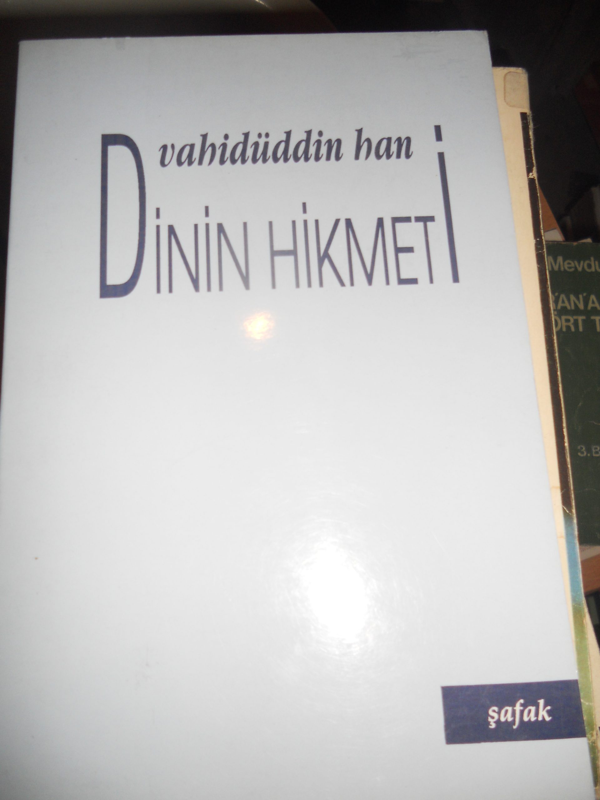 DİNİN HİKMETİ/Vahidüddin Han/ 10 tl