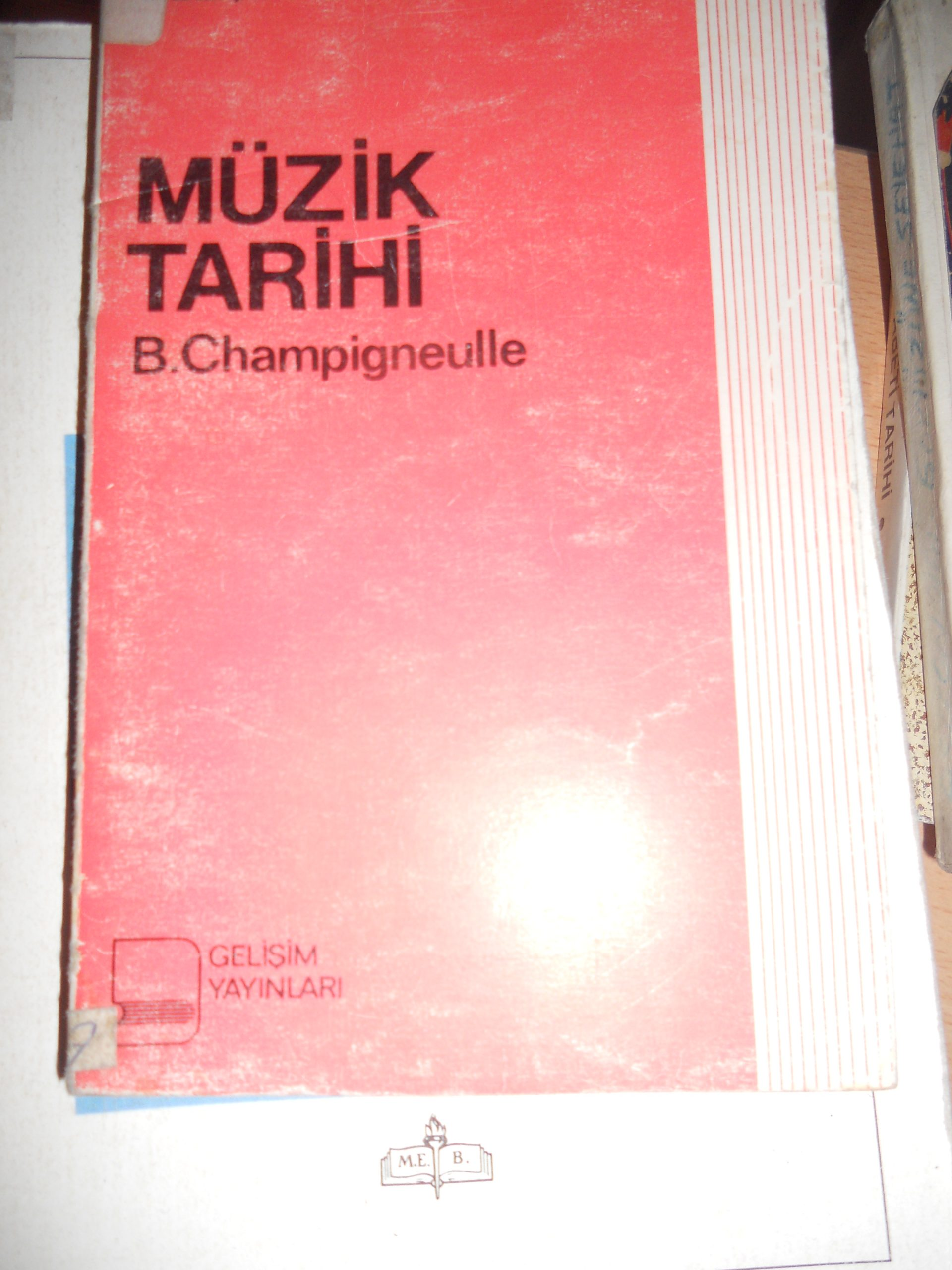 MÜZİK TARİHİ /B.Champigneulle/ 10 tl