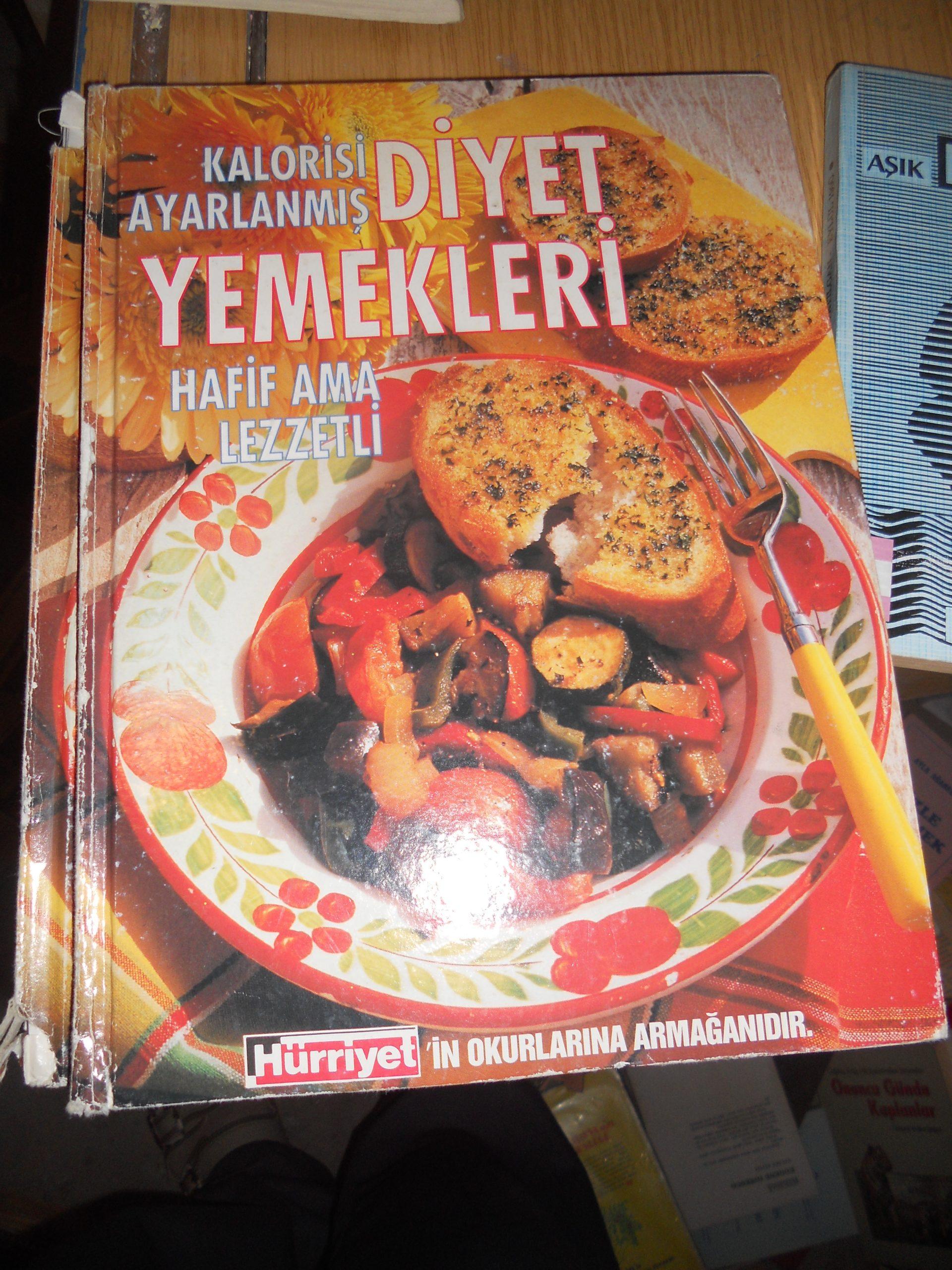 DİYET YEMEKLERİ(Kalorileri ayarlanmış)/ 10 tl