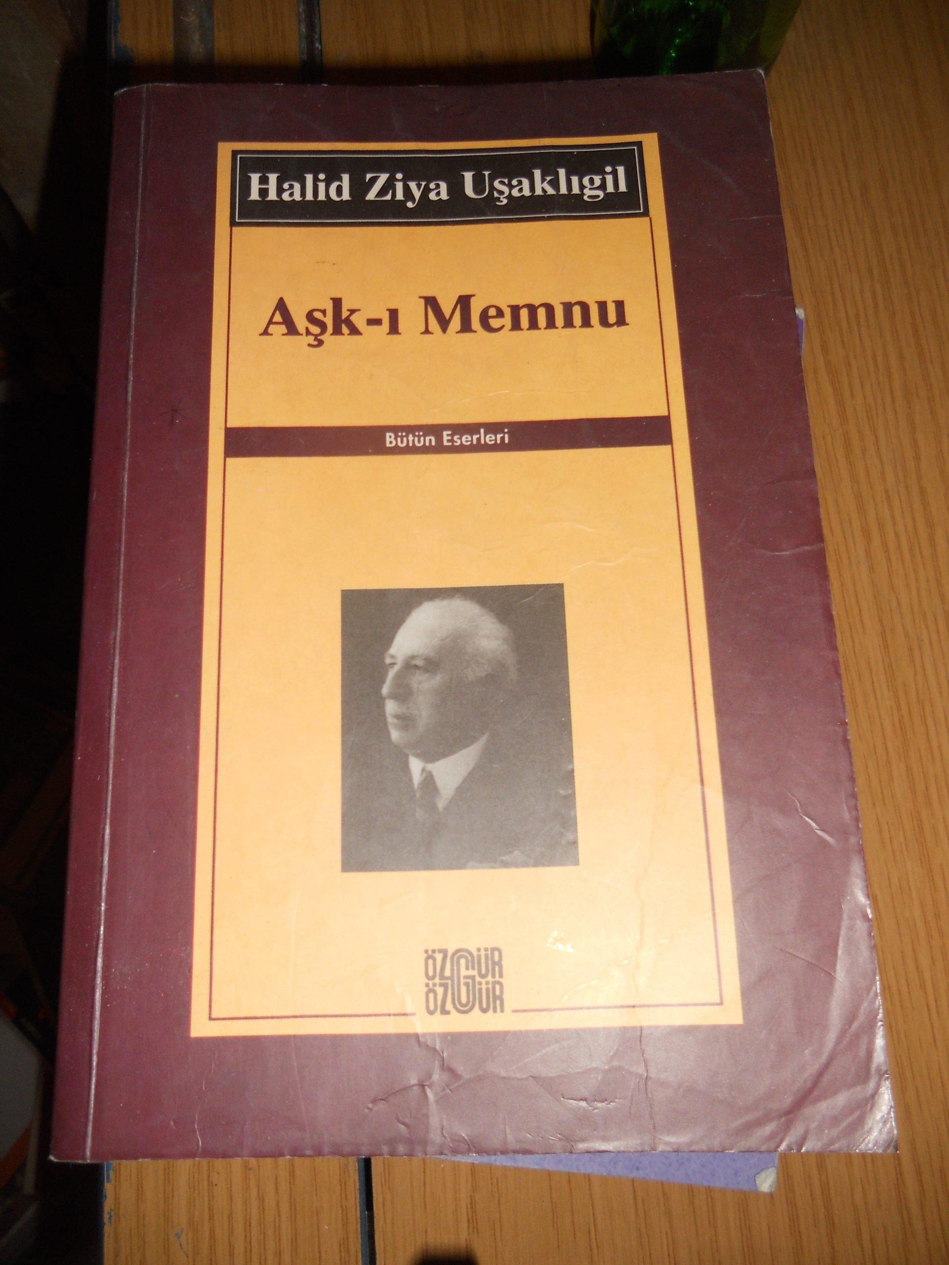 AŞK-I MEMNU / Halid Ziya Uşaklıgil/15 TL