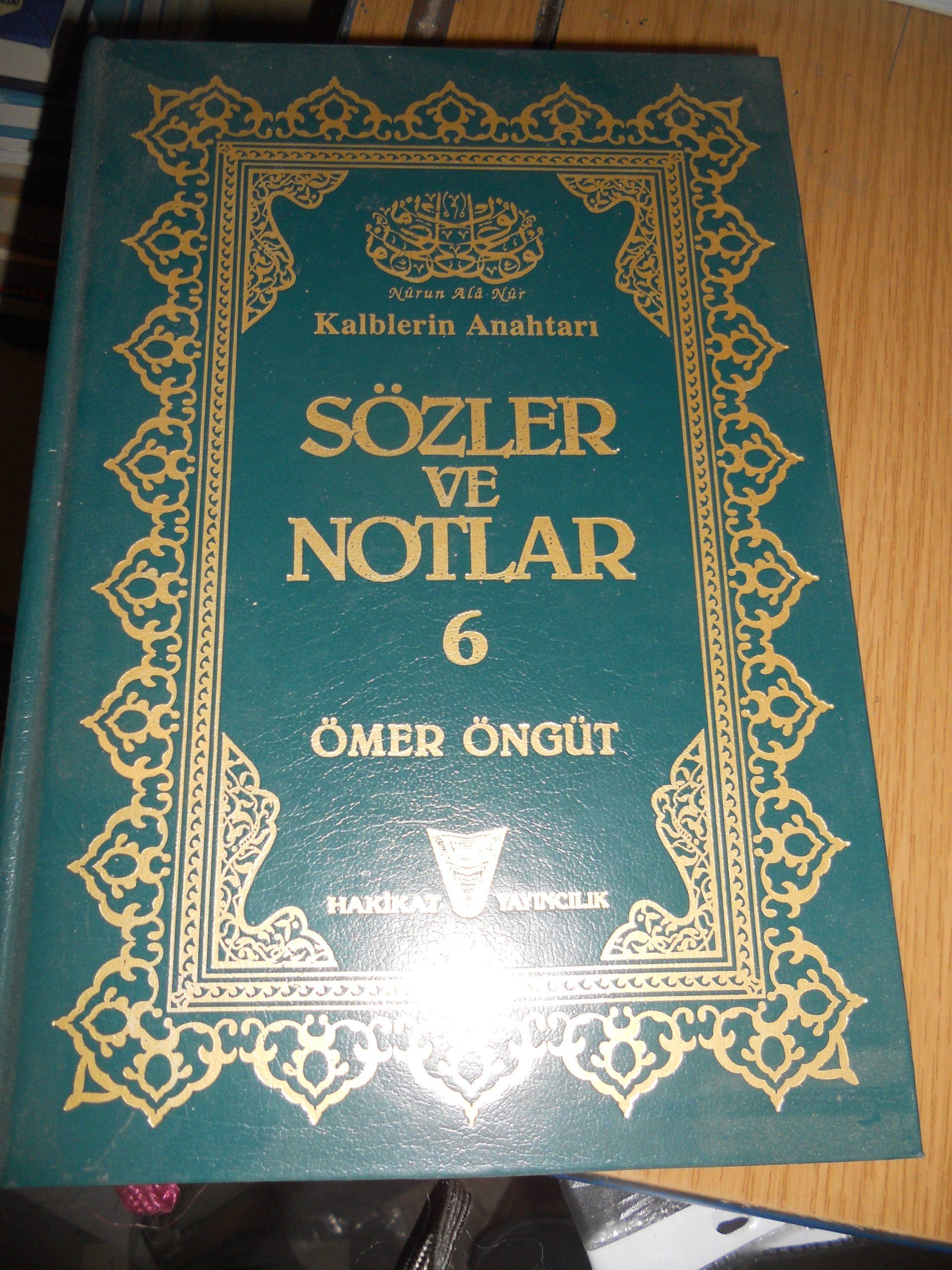 SÖZLER ve NOTLAR -6/ Ömer ÖNGÜT/ 10 TL
