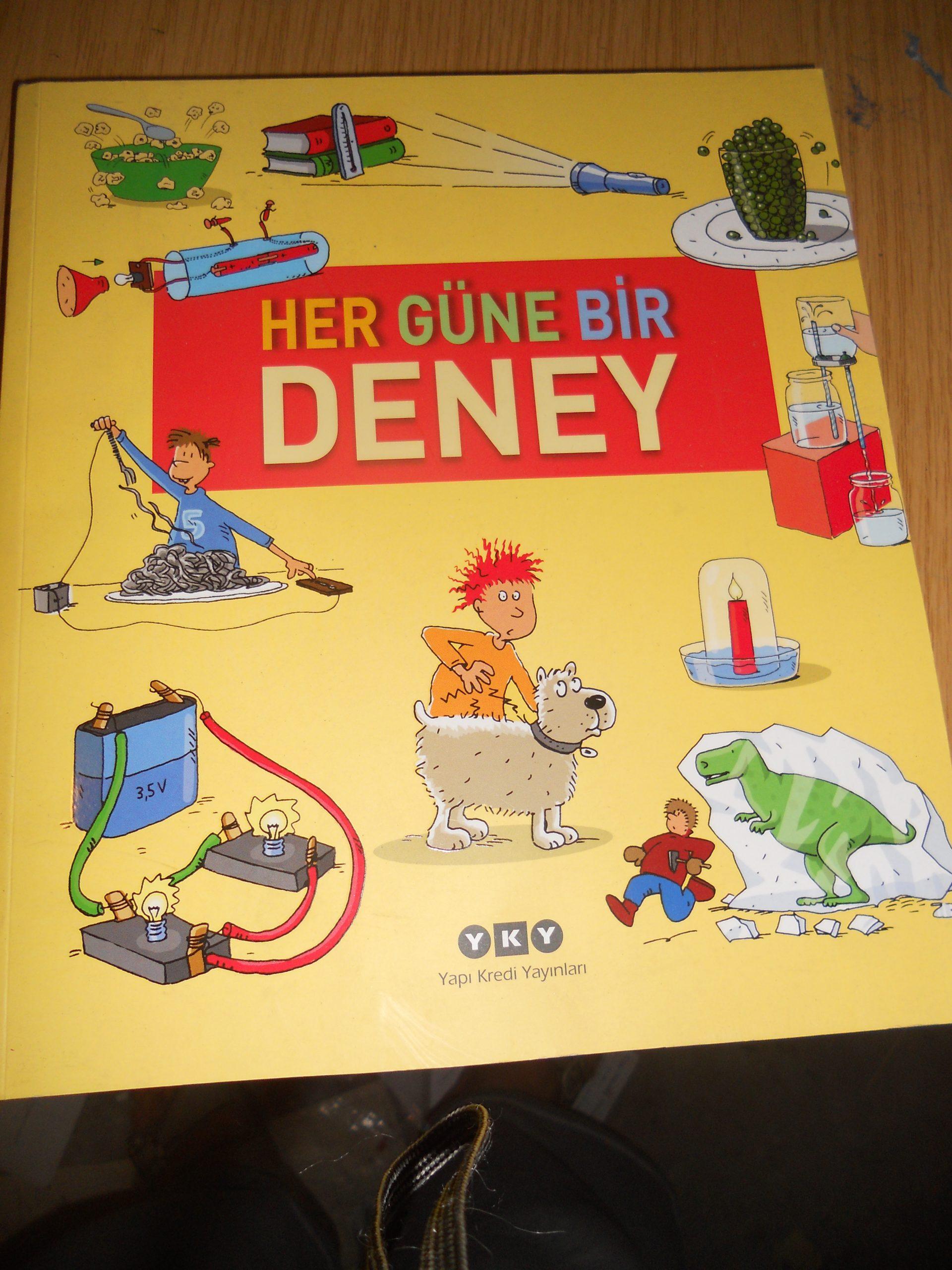 HER GÜNE BİR DENEY/ANİTA VAN SAAN/ 7,5 TL(SATILDI)
