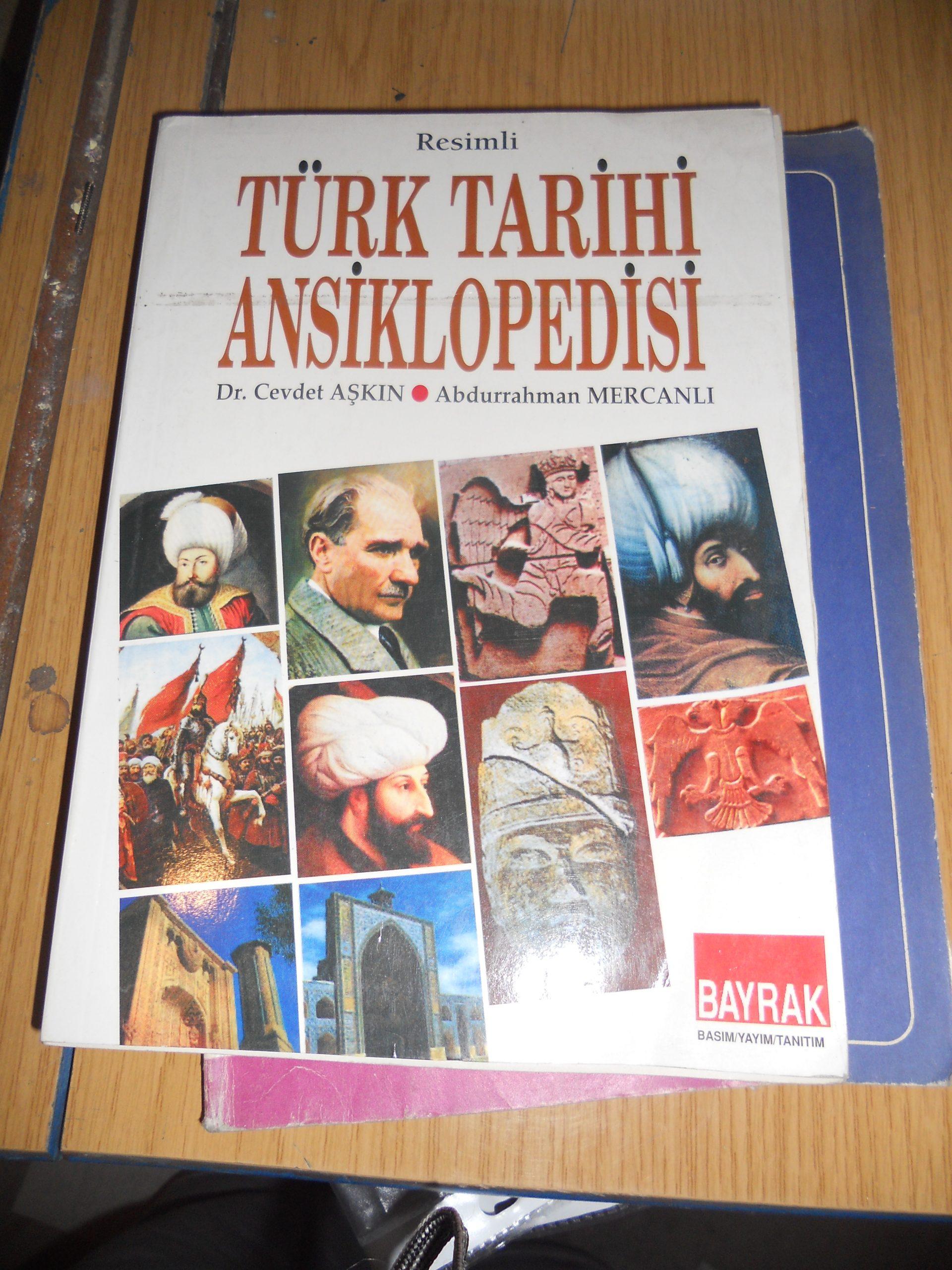 Resimli TÜRK TARİHİ ANSIKLOPEDİSİ/Dr.Cevdet AŞKIN-A.MERCANLI/15 TL