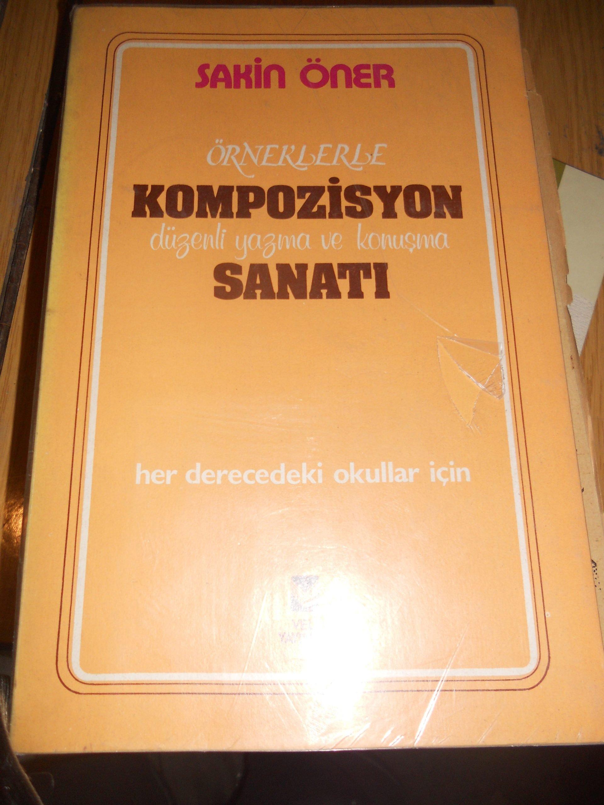 Örneklerle KOMPOZİSYON SANATI/Sakin ÖNER/20 tl