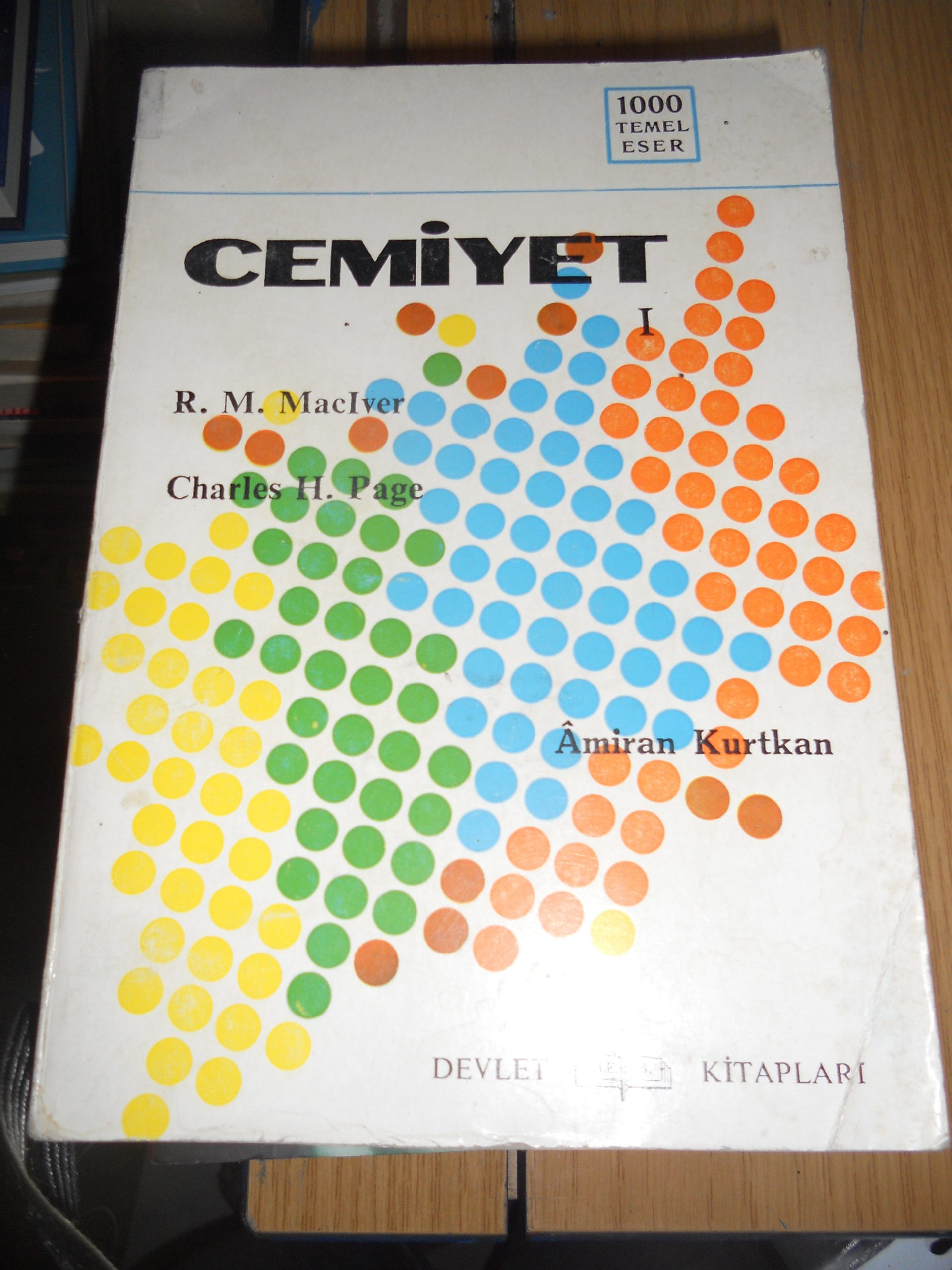 CEMİYET-1-/R.M.MAICVER-Charles H.PAGE/ 15 tl