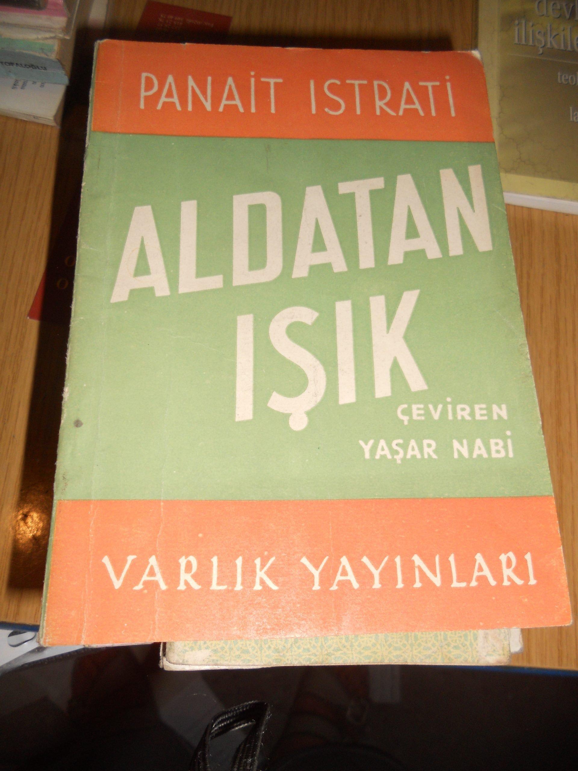 ALDATAN IŞIK/Panaıt ISTRATİ/10 TL