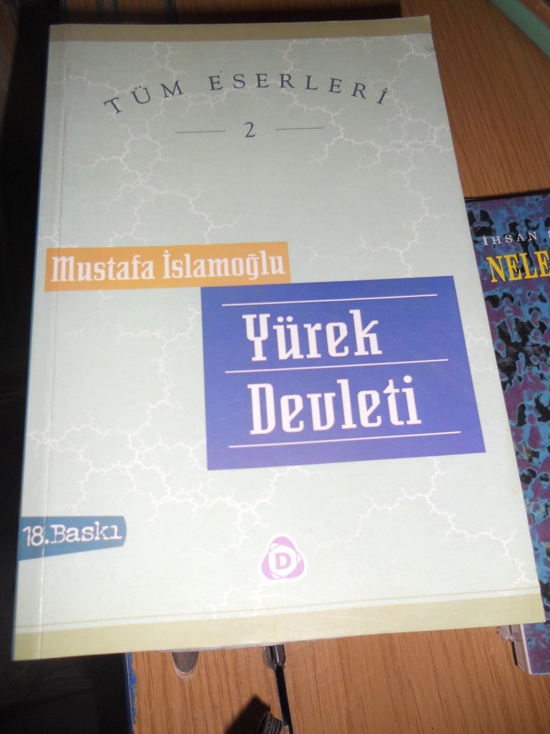 YÜREK DEVLETİ/ Mustafa İSLAMOĞLU/10TL