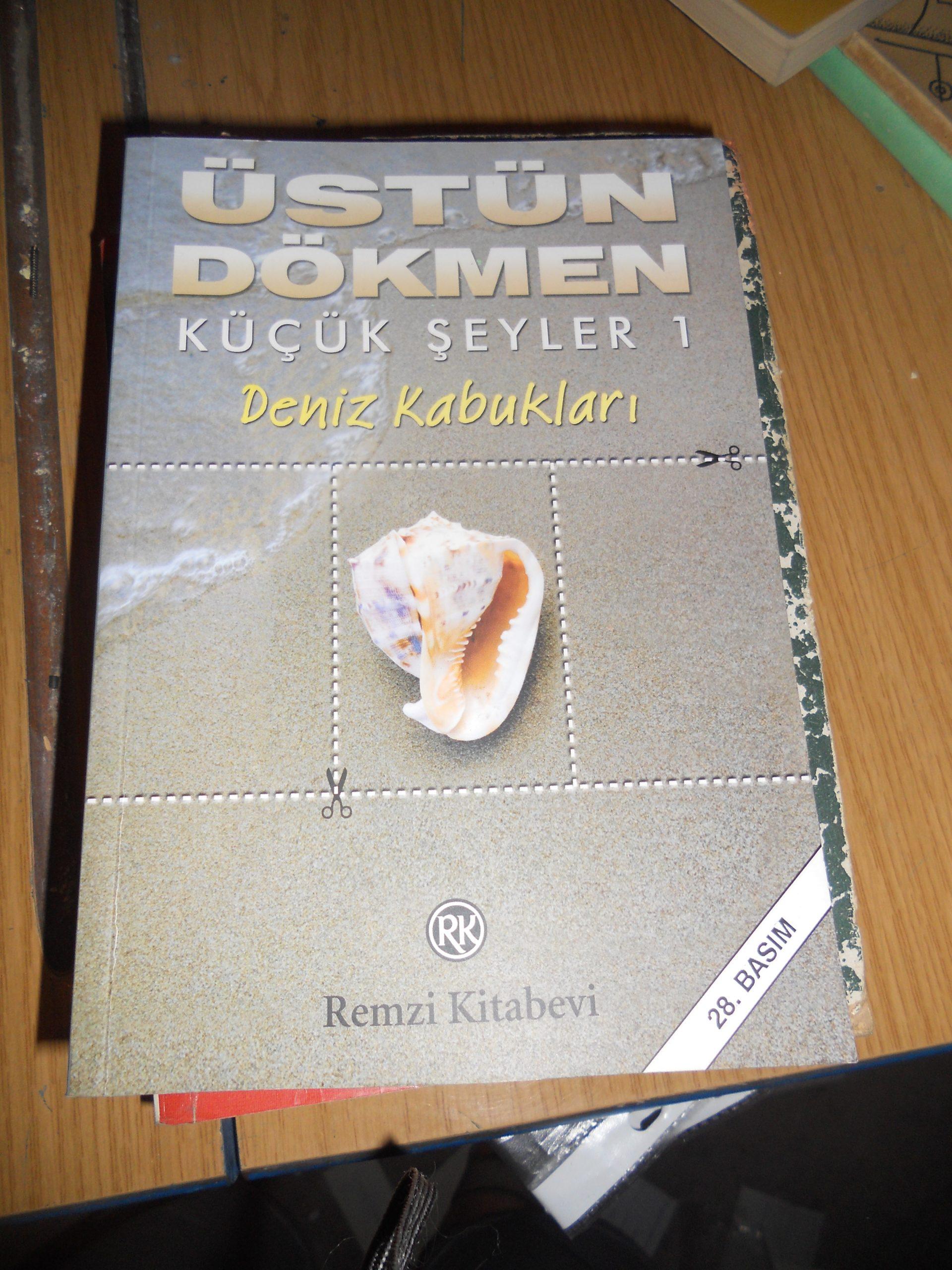 KÜÇÜK ŞEYLER 1-DENİZ KABUKLARI/ÜSTÜN DÖKMEN/10 TL