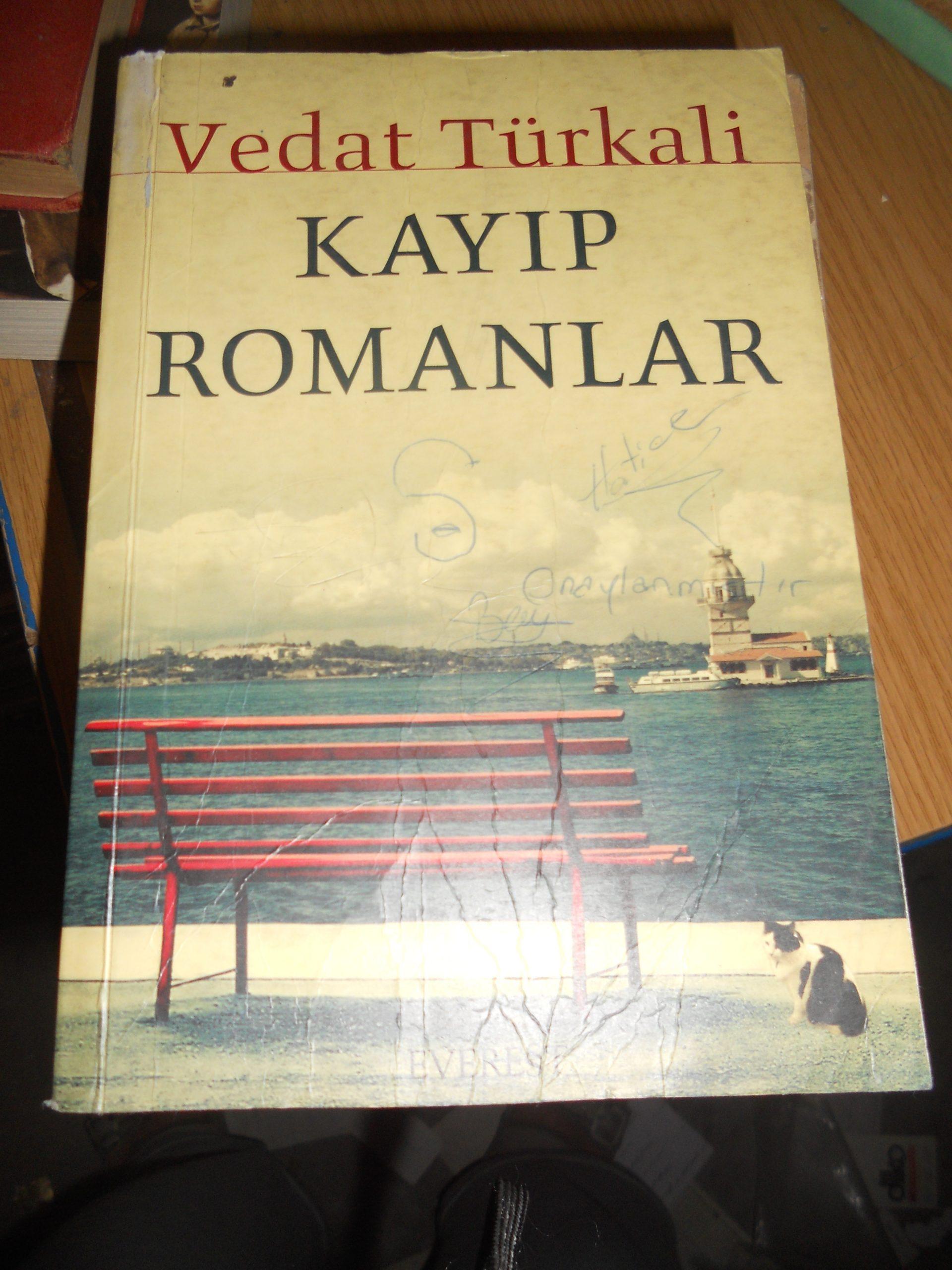 KAYIP ROMANLAR/Vedat TÜRKALİ/ 20 tl