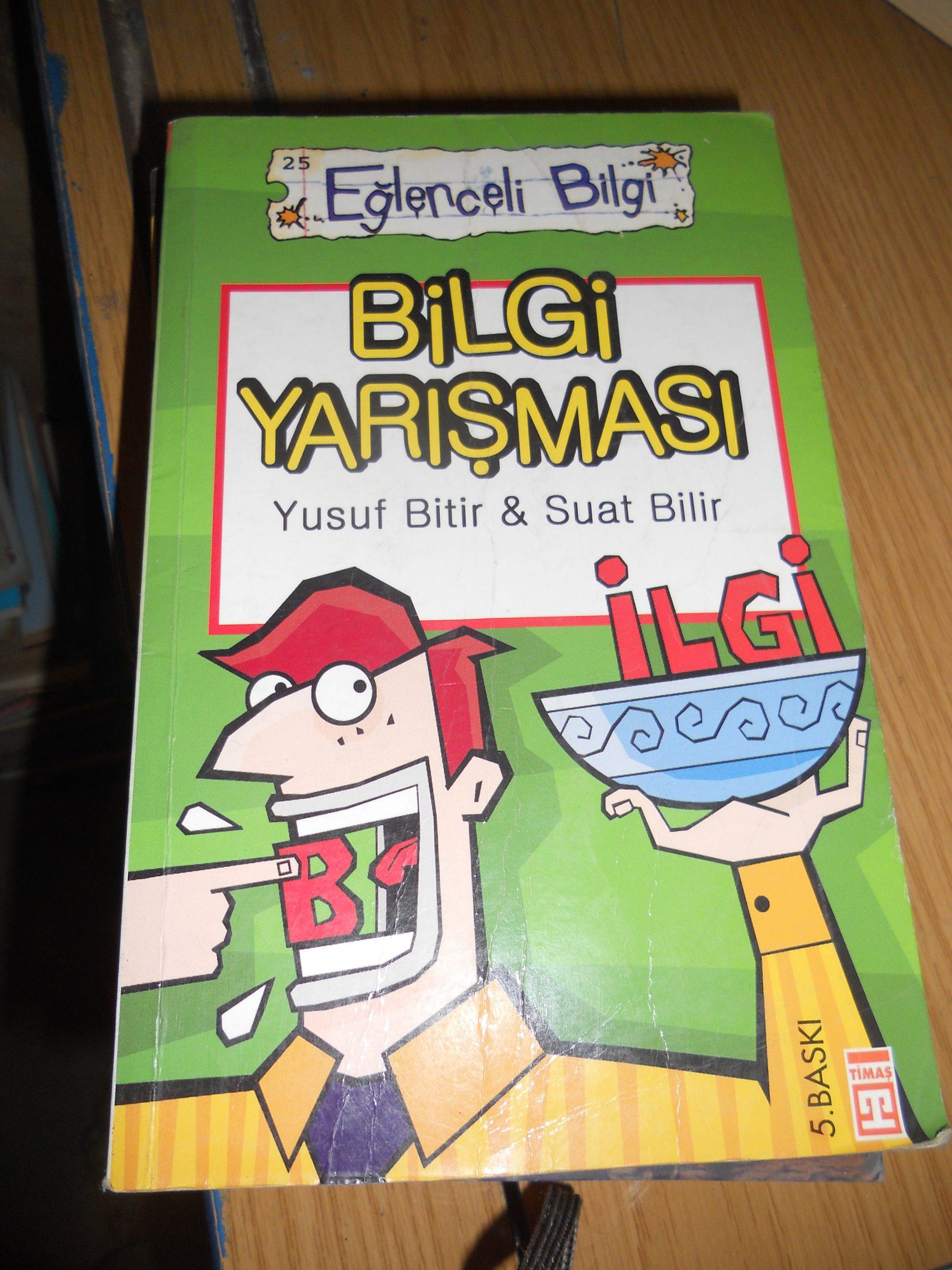 Eğlenceli Bilgi-BİLGİ YARIŞMASI/Yusuf Bitir&Suat Bilir/10 TL