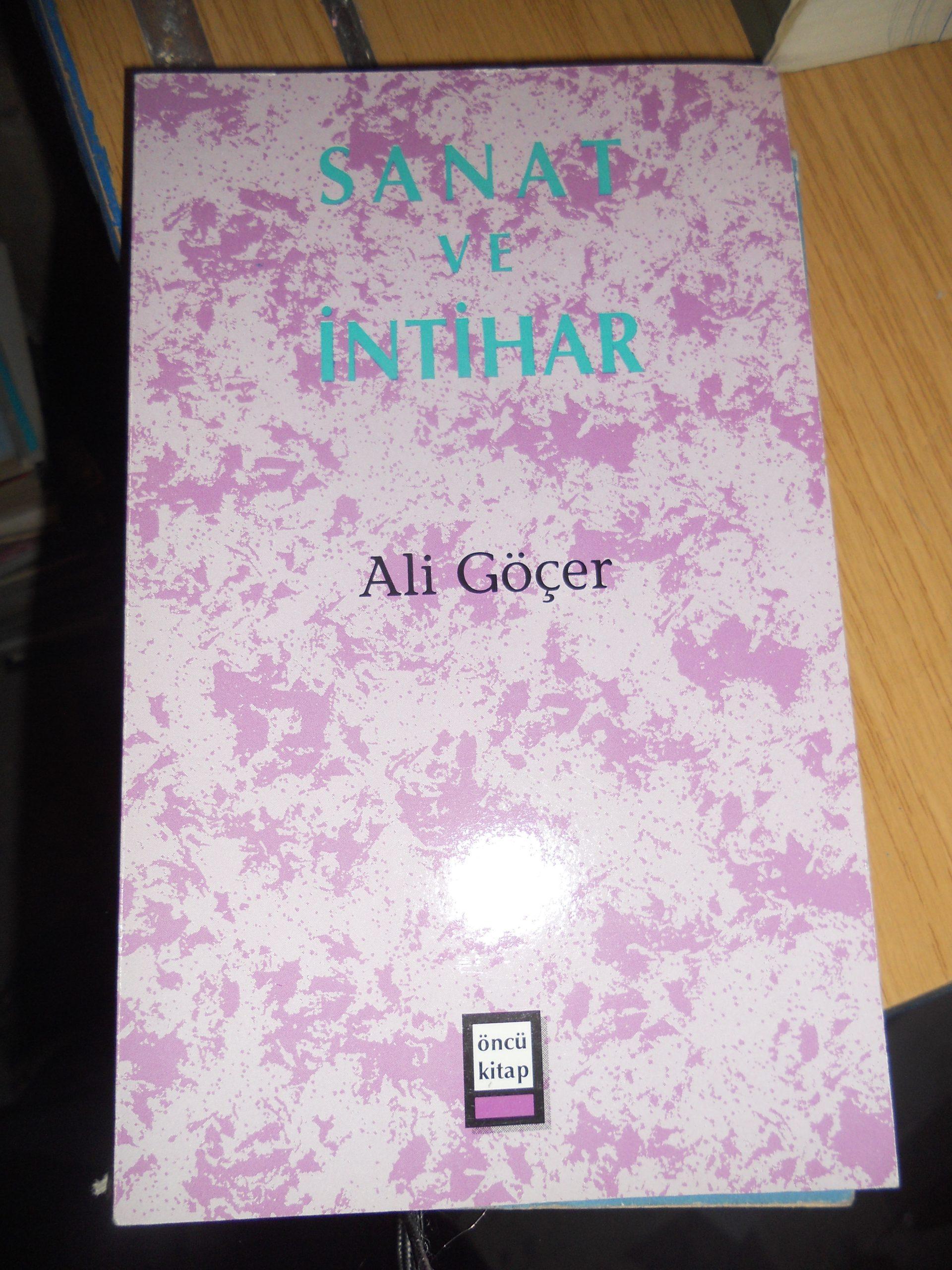 SANAT VE İNTİHAR/Ali GÖÇER/15 TL