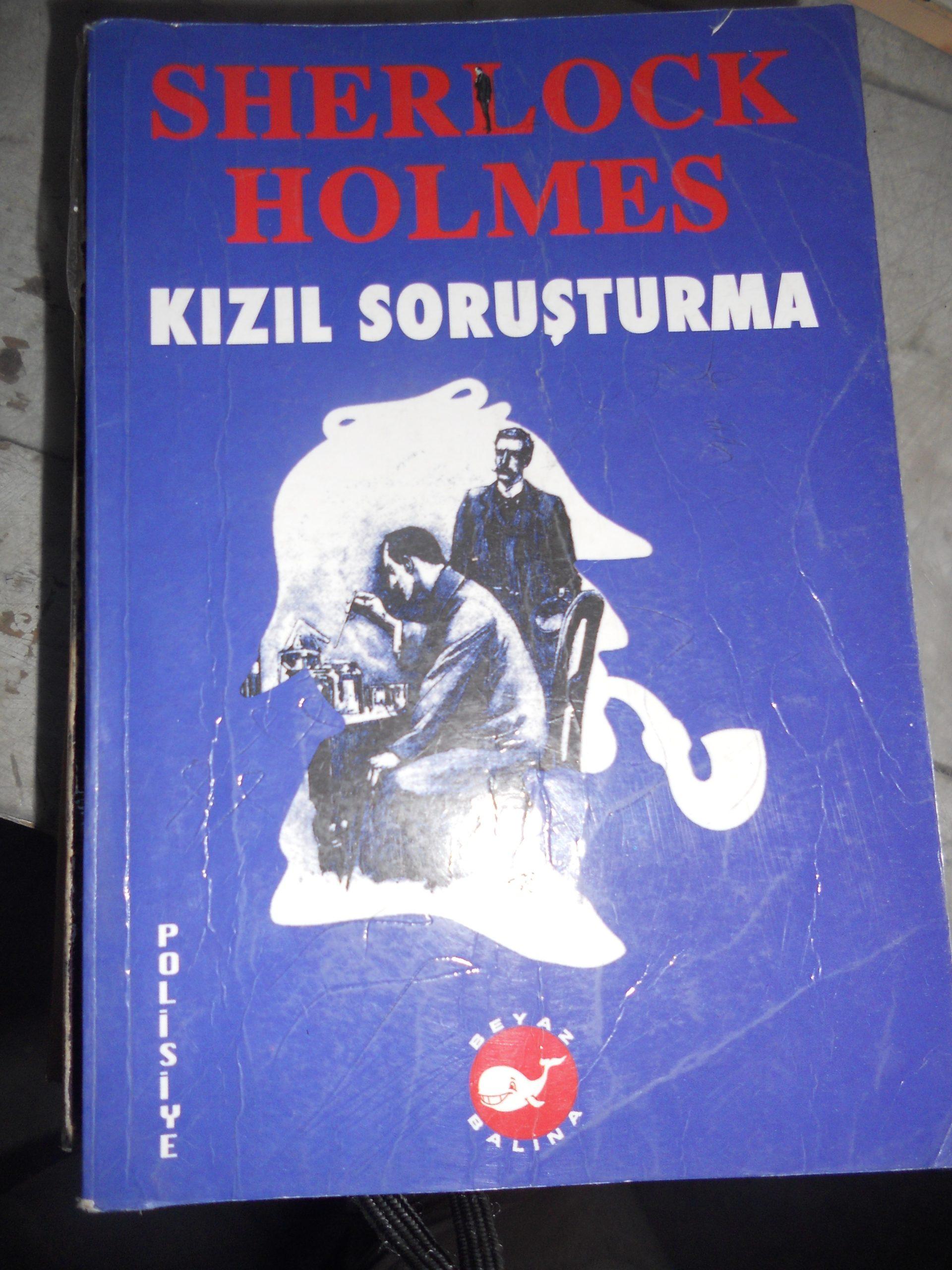 KIZIL SORUŞTURMA/Sherlock HOLMES/10 TL