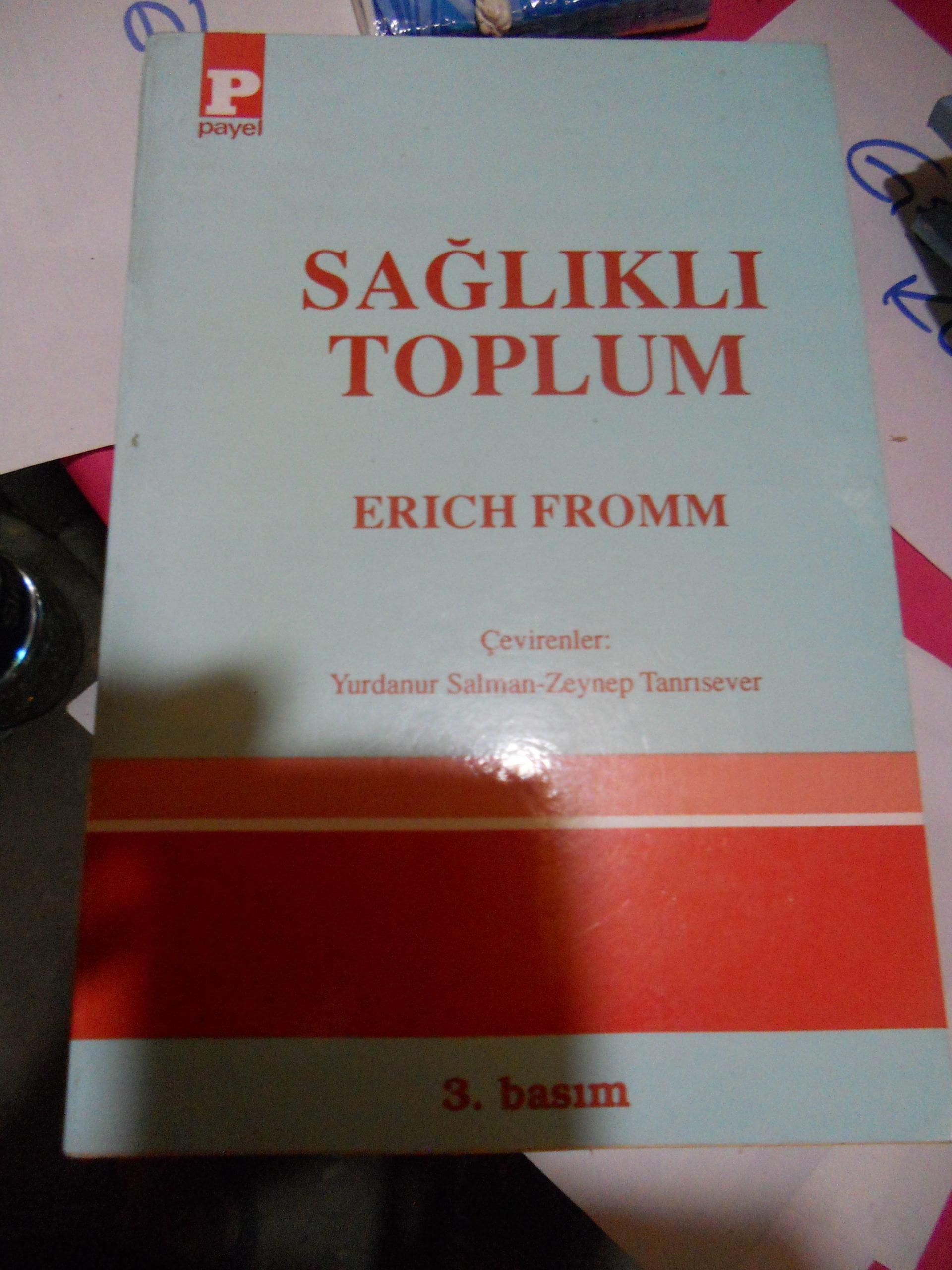 SAĞLIKLI TOPLUM/ERICH FROMM/15 TL