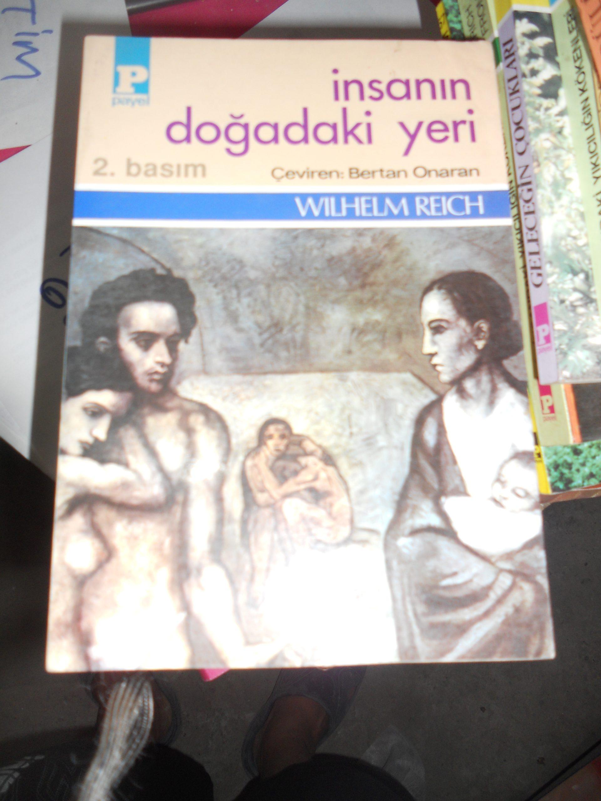 İNSANIN DOĞADAKİ YERİ/WILHELM REICH/15 TL