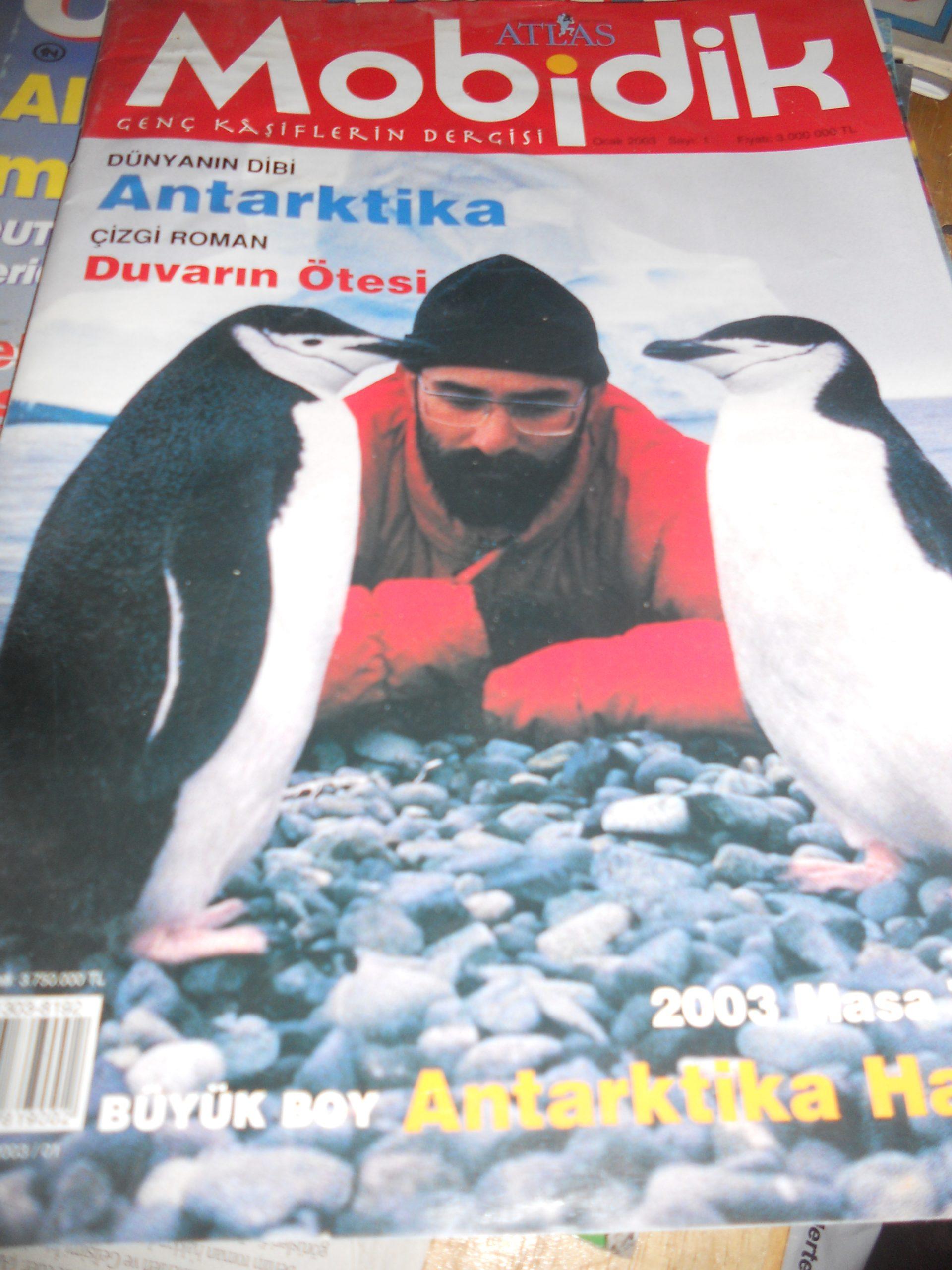 Atlas MOBİDİK-Genç kaşiflerin dergisi/Ocak 2003 s.1/2 tl(Satıldı)