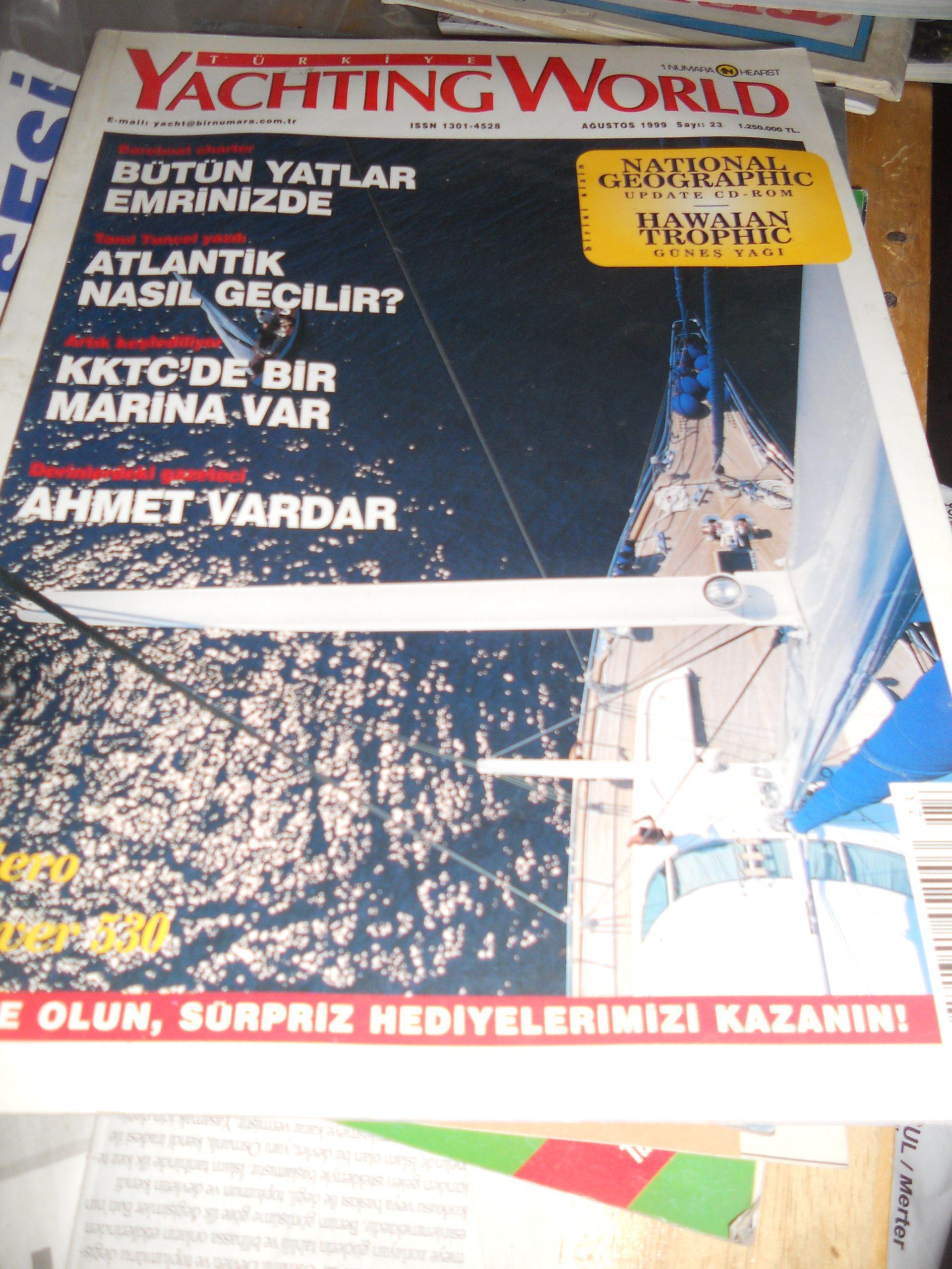 YACHTING WORLD(1999 s 3)/Yat dergisi/ 5 tl