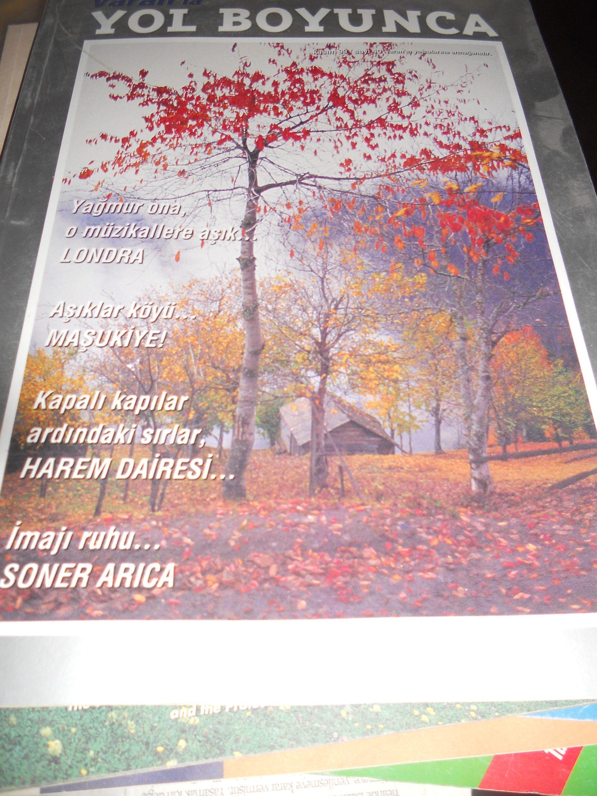 YOL BOYUNCA/VARAN TURİZM/KASIM 1999/ 5 TL