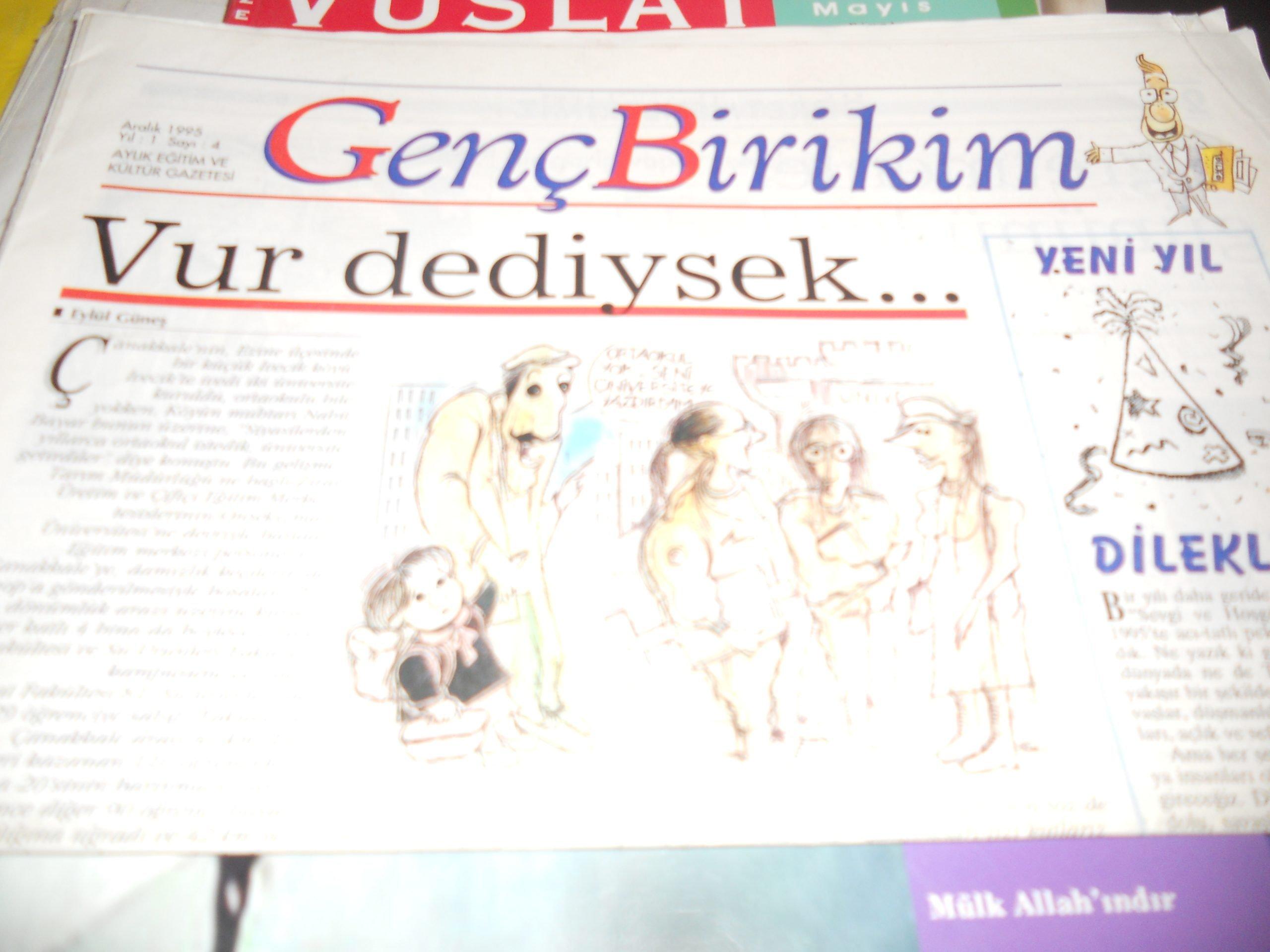 Genç Birikim/Aralık 1995 sayı-4/5 tl